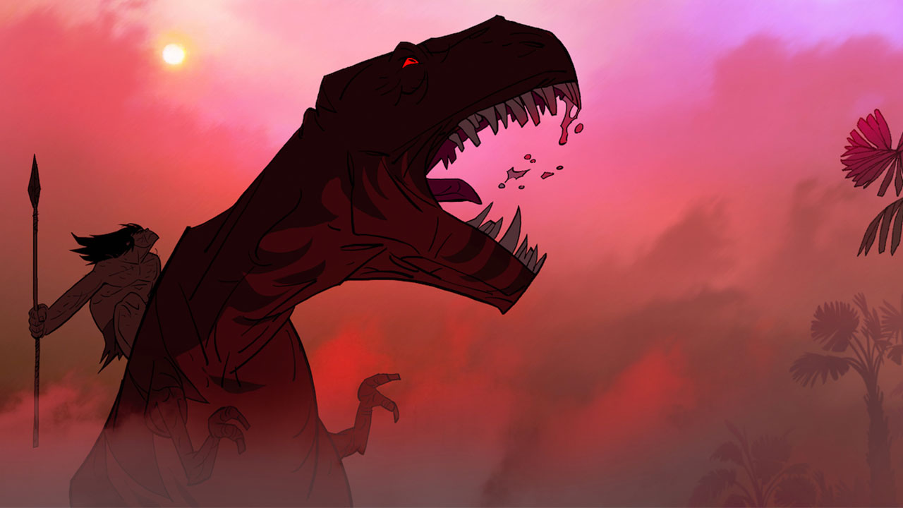A movie version of Genndy Tartakovsky's Primal is apparently up for the Oscar