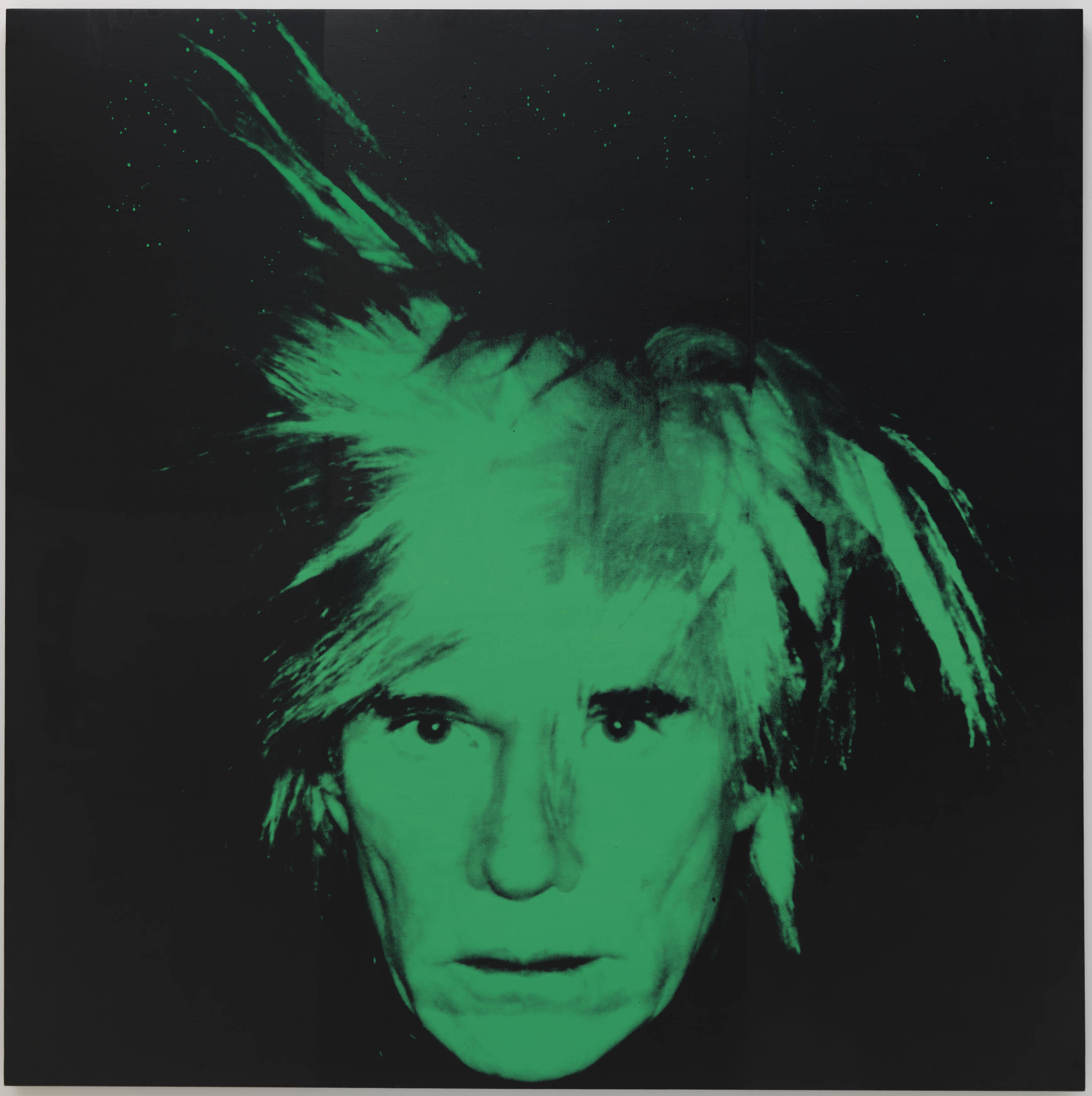 Andy Warhol. Self-Portrait, 1986. Solomon R. Guggenheim Museum, New York; gift, Anne and Anthony d'Offay in honor of Thomas Krens. © 2019 The Andy Warhol Foundation for the Visual Arts, Inc. / Artists Rights Society (ARS), New York.