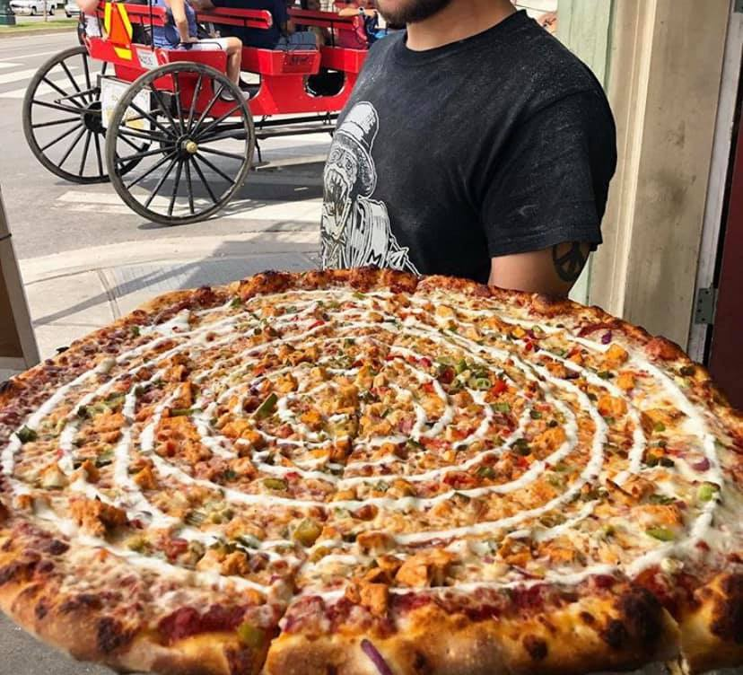 In Its Third Act, a Rampart Street Pizza Place Is Serving Flaming Pies