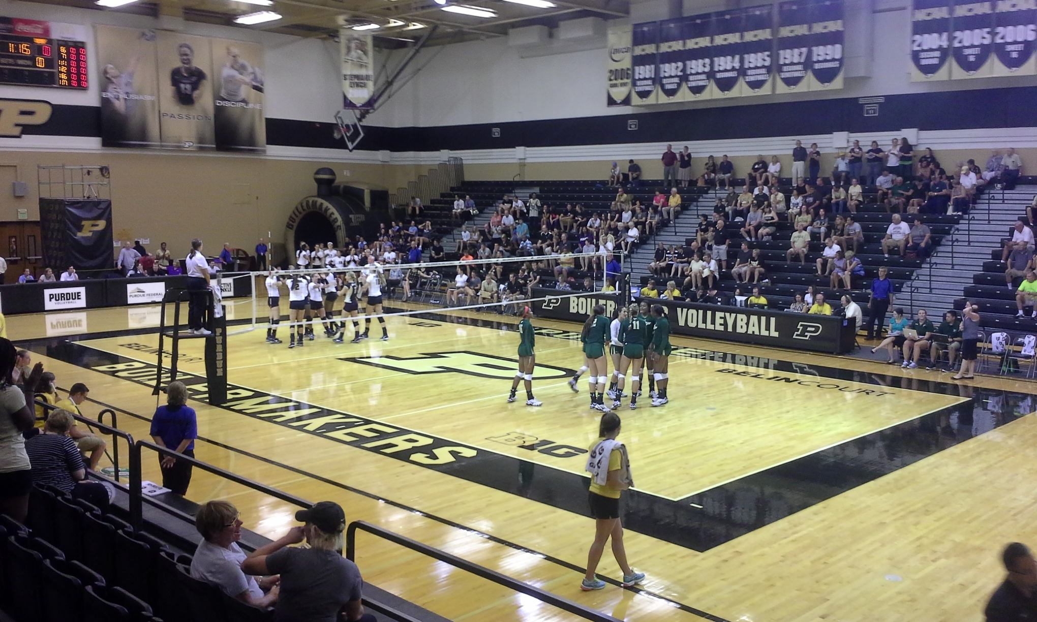 Purdue Volleyball vs South Florida 2014
