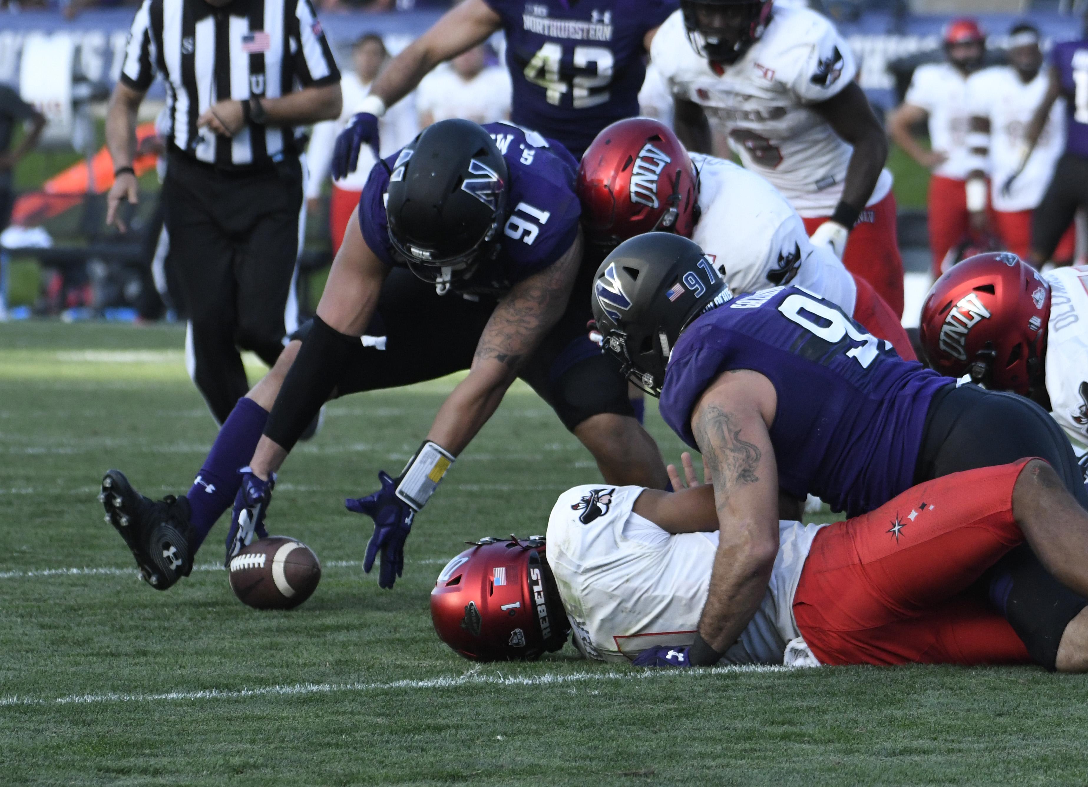NCAA Football: UNLV at Northwestern