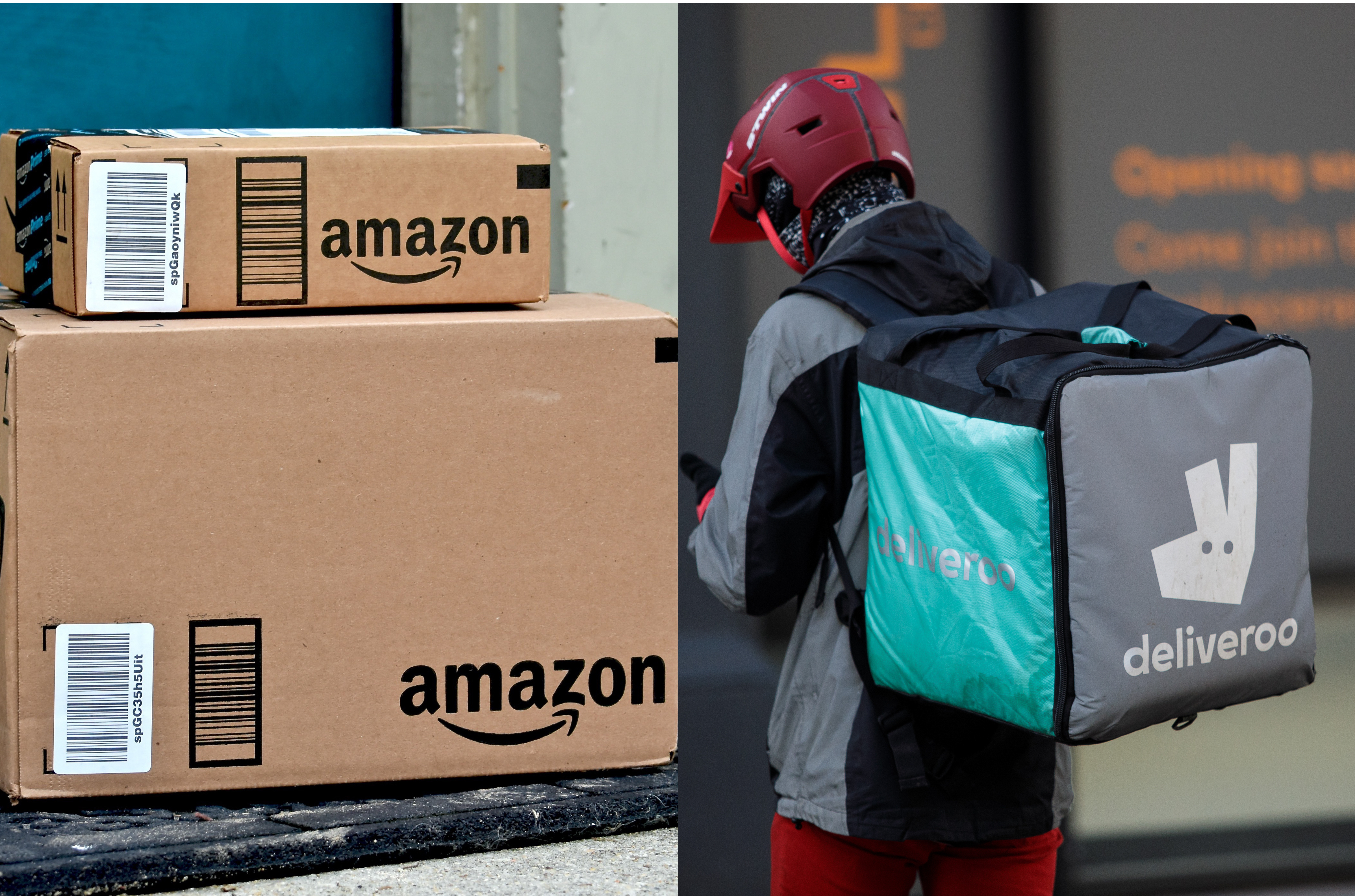 Amazon Invested Millions in Takeaway Pedallers Deliveroo but Regulators Worry It's Shady