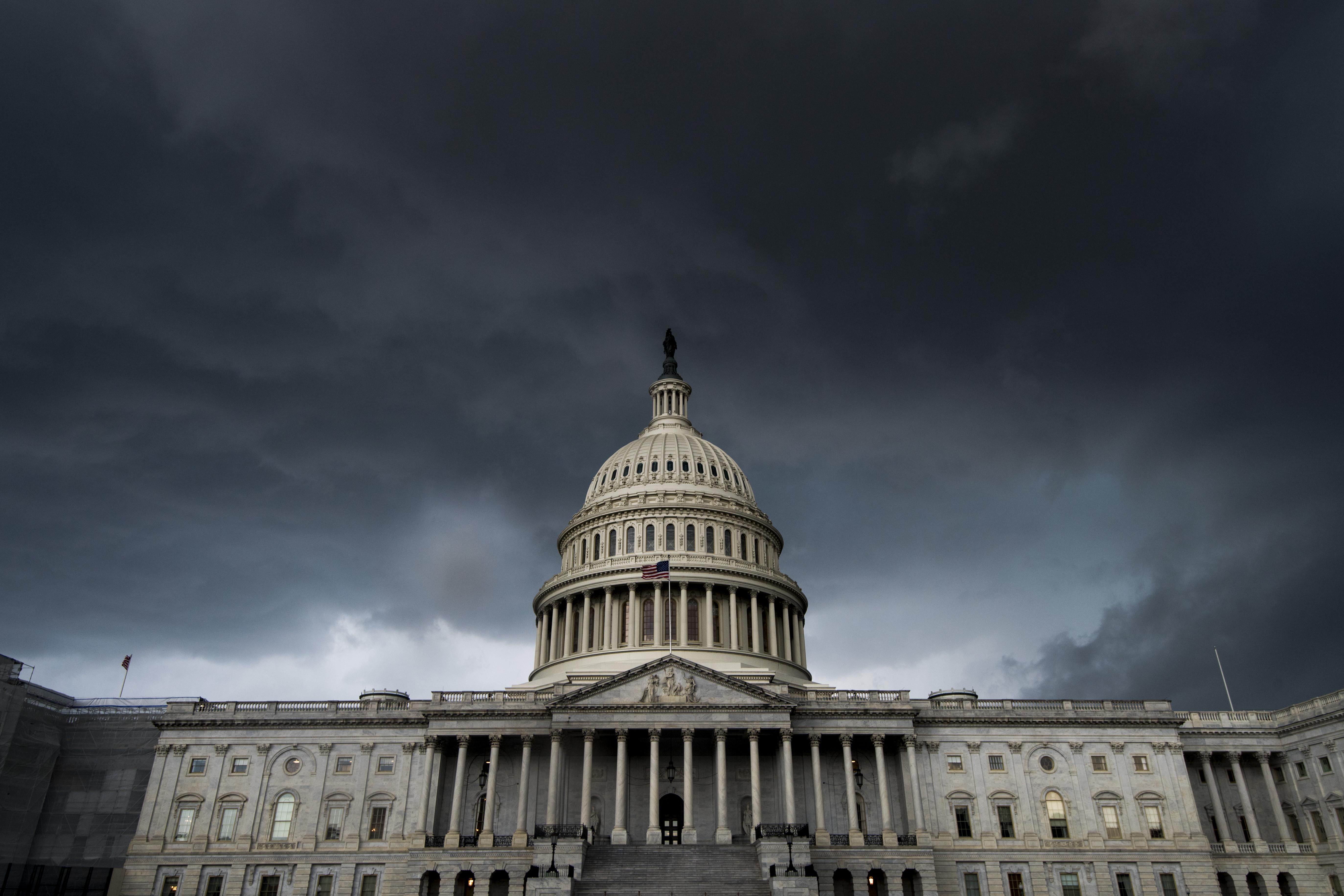 Capitol Thunderstorm