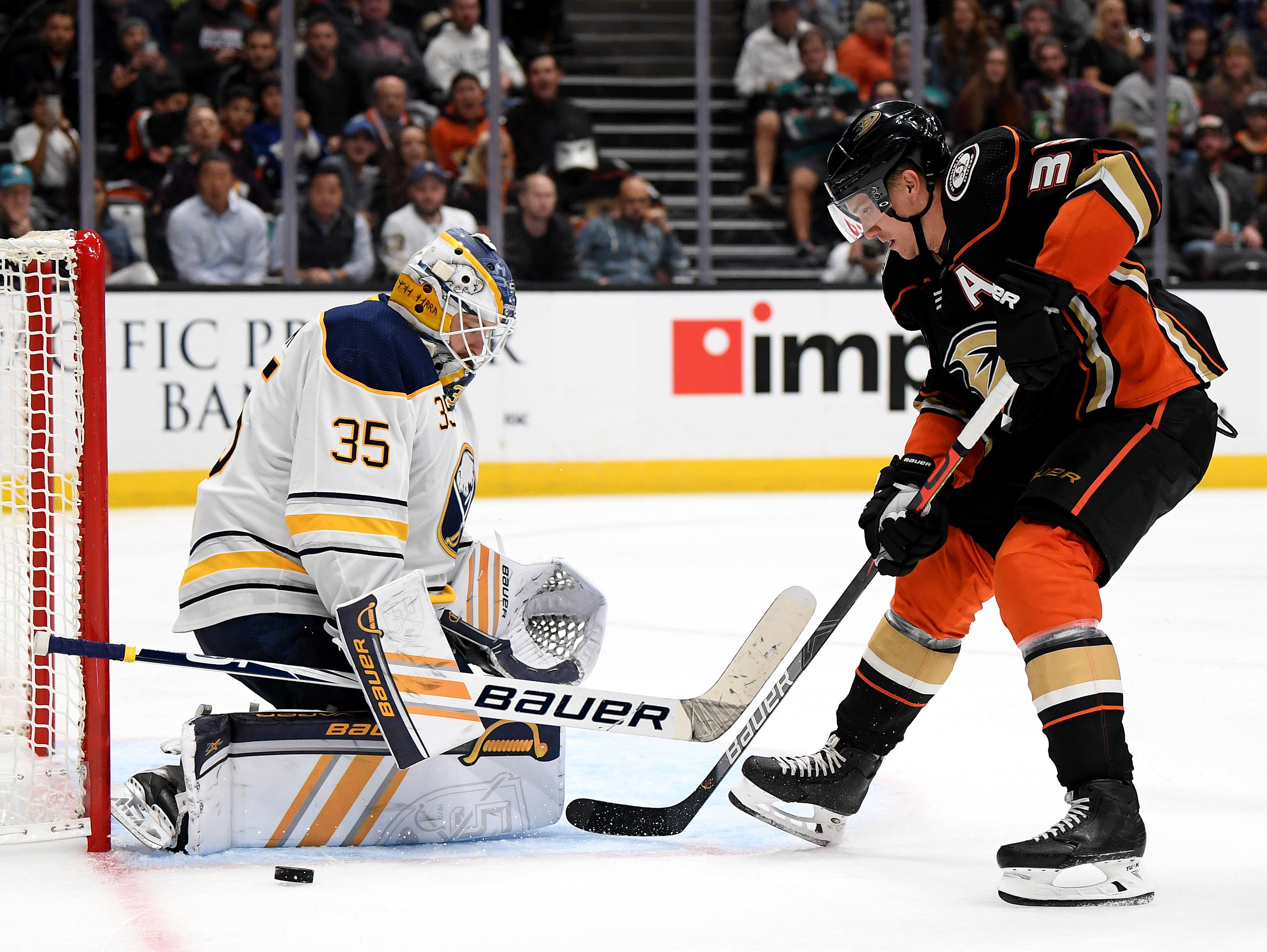 Buffalo Sabres v Anaheim Ducks