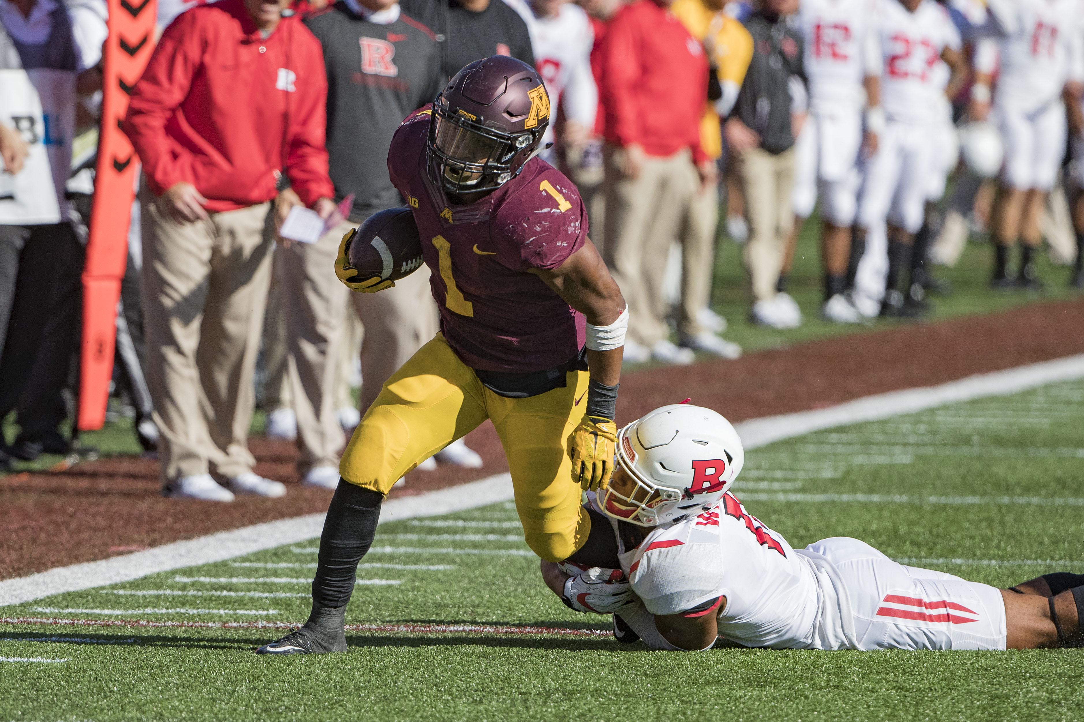 NCAA Football: Rutgers at Minnesota