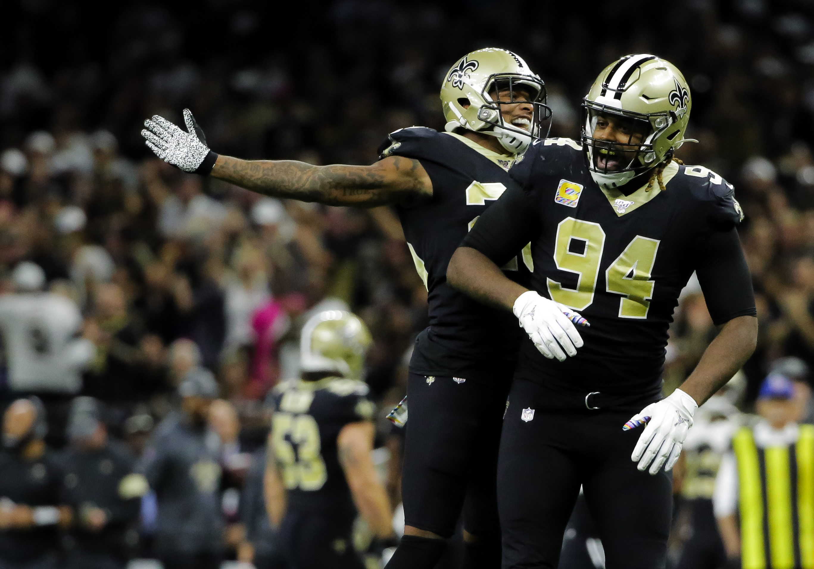 The Saints have a new identity — and it's their defense