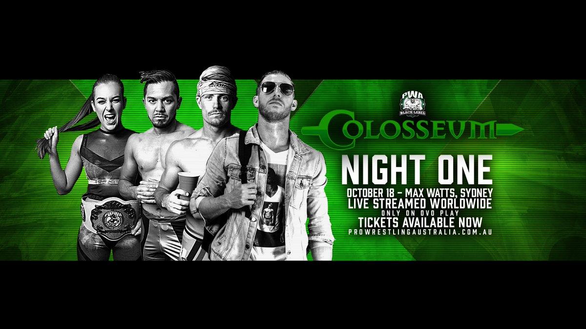PWA Black Label Colosseum poster