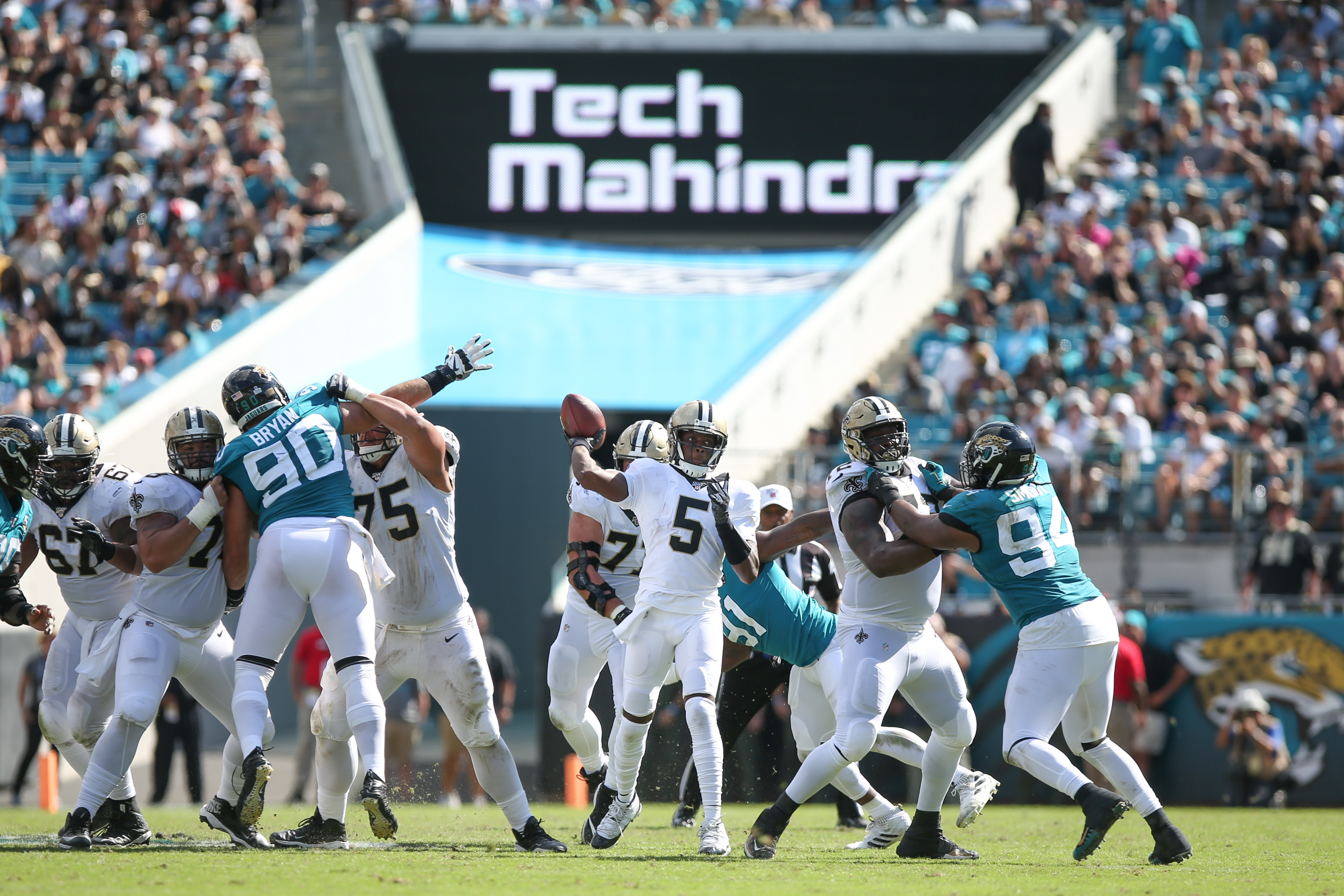 NFL: OCT 13 Saints at Jaguars