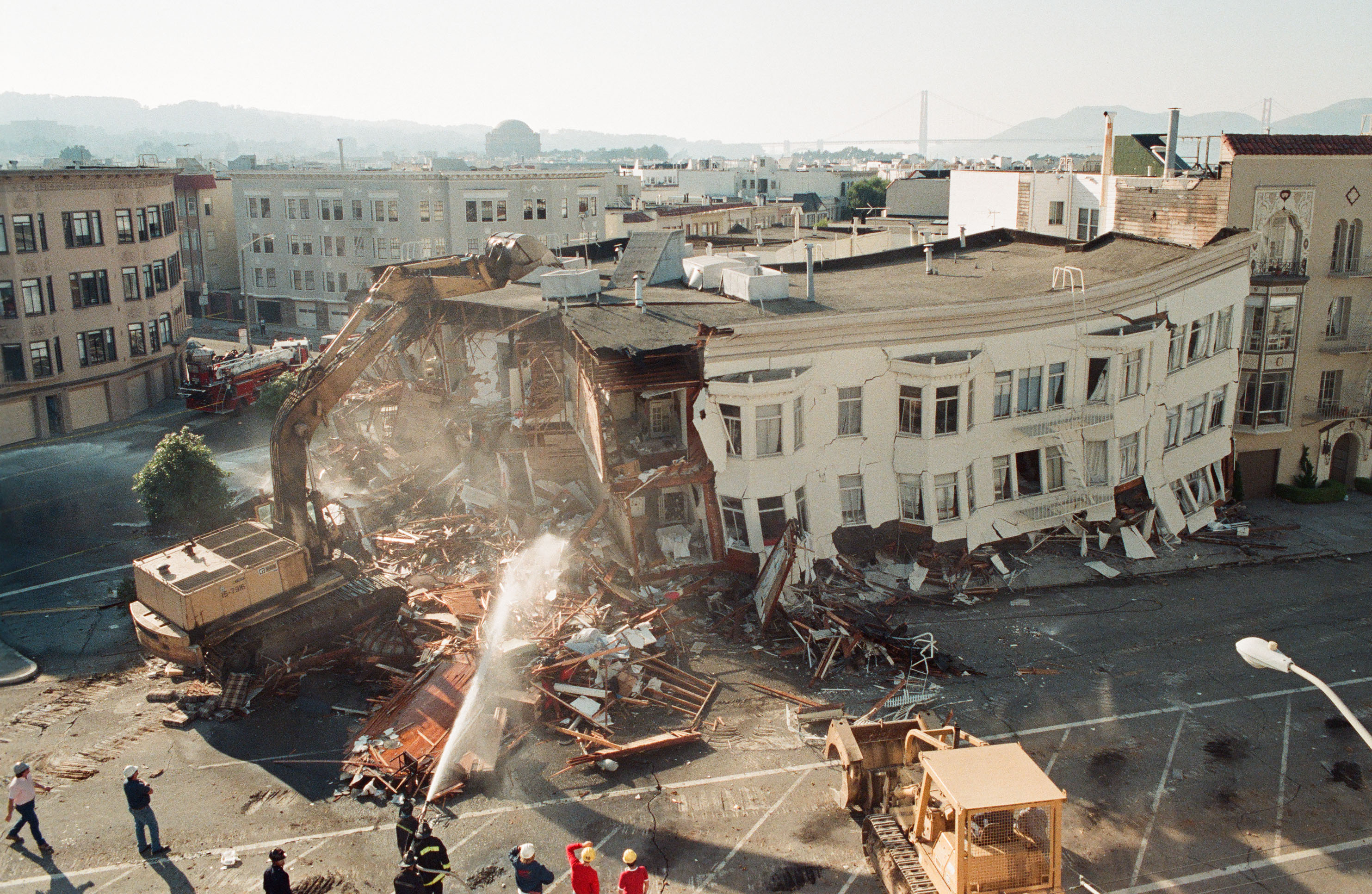 The Loma Prieta earthquake struck the Bay Area 30 years ago, and it looked like this