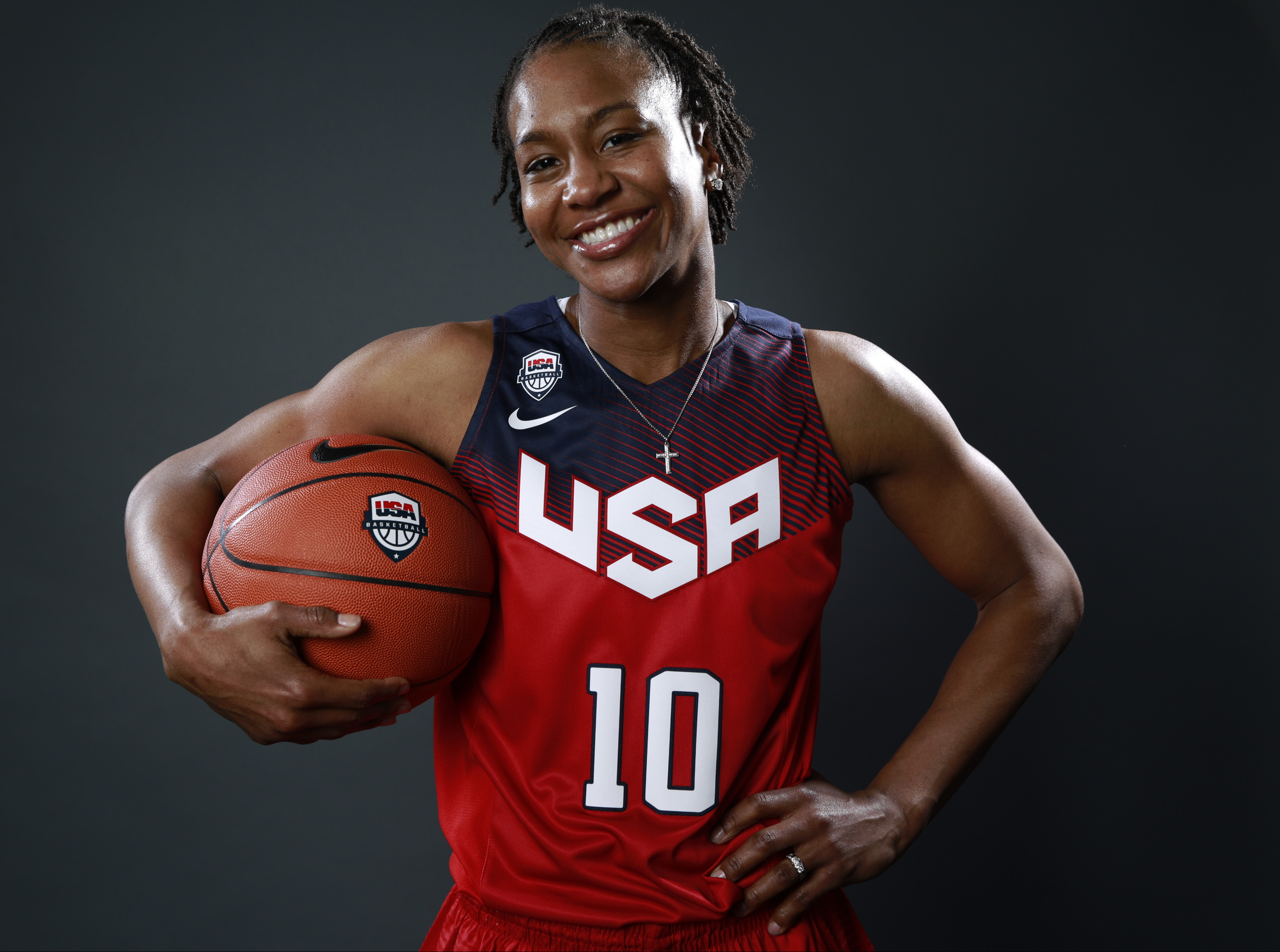 The award for the top women's college basketball player will be named after Tamika Catchings.