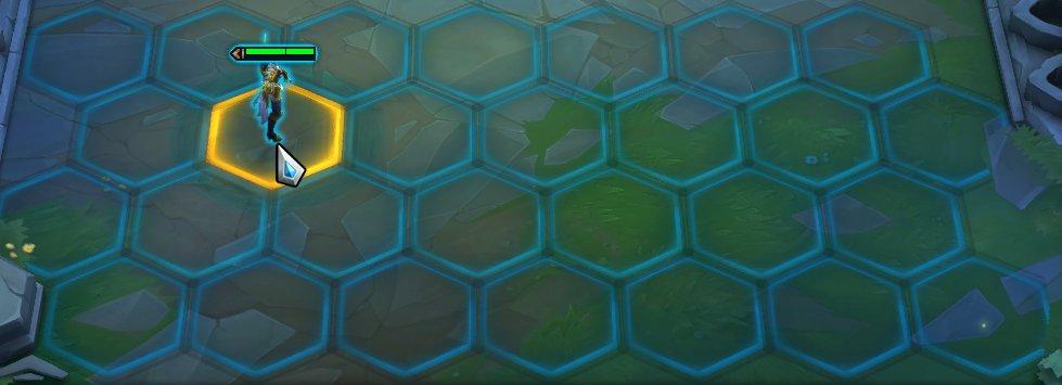 A screenshot of TFT set 2's bigger board