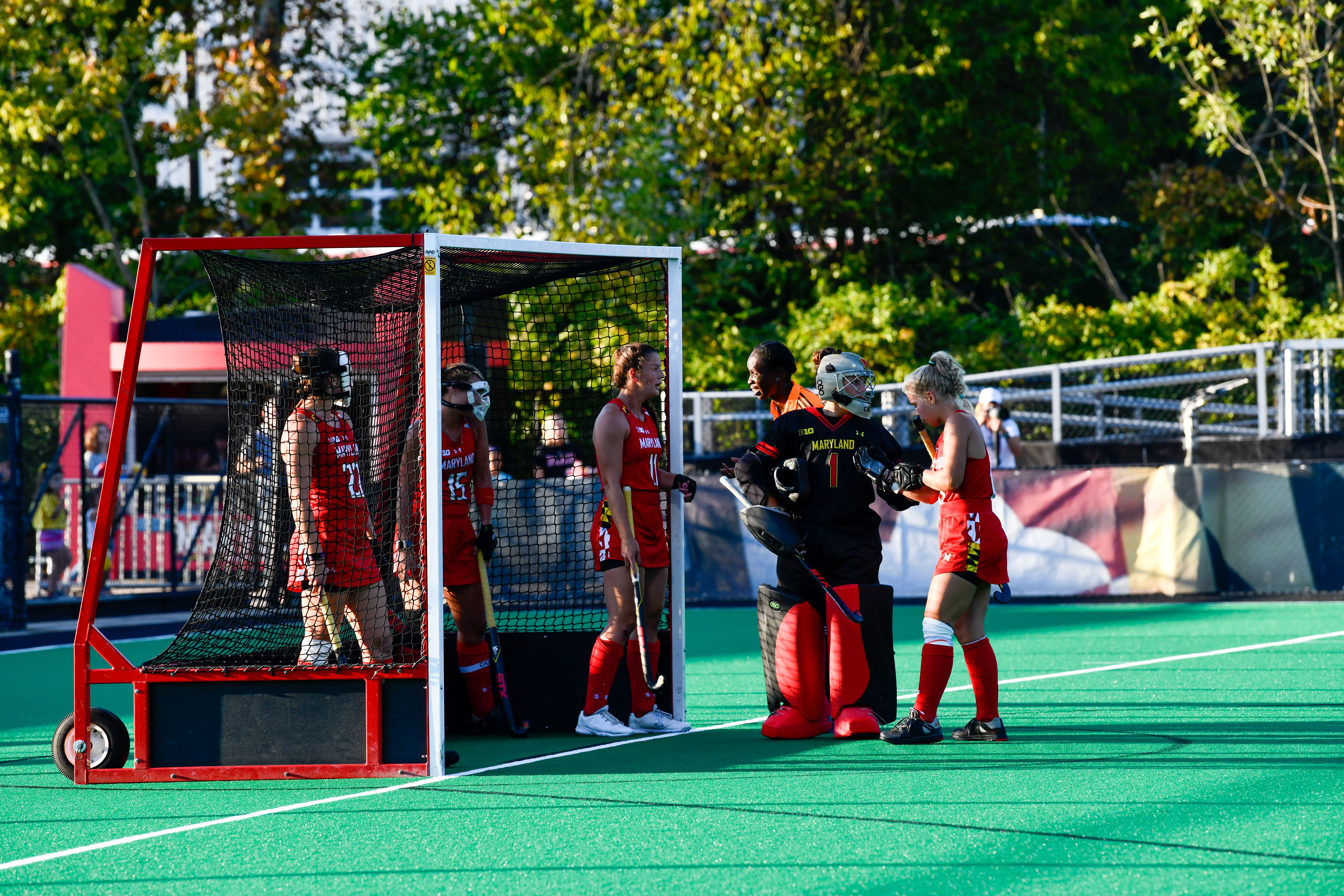 Maryland field hockey defense 2019