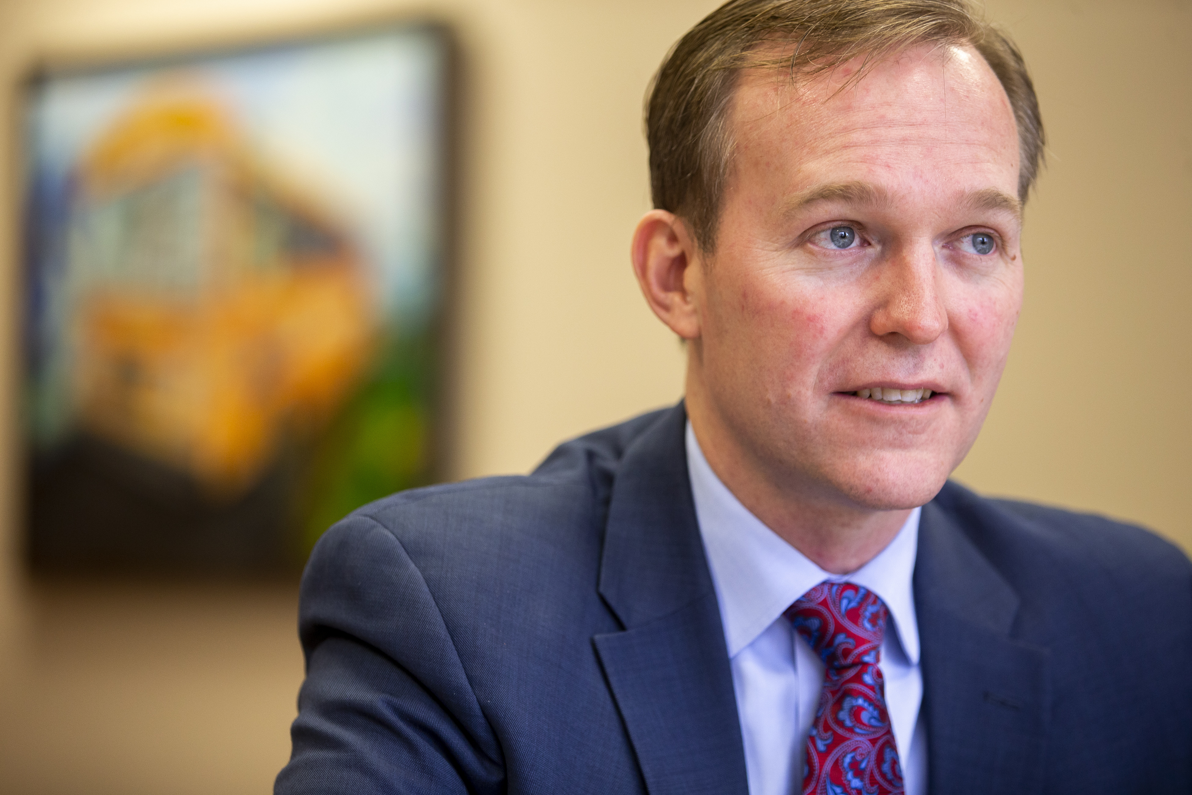 Congressman-elect Ben McAdams talks about his hopes and expectations as he prepares for his move to Washington D.C. during an interview at the Salt Lake County complex on Monday, Dec. 17, 2018.