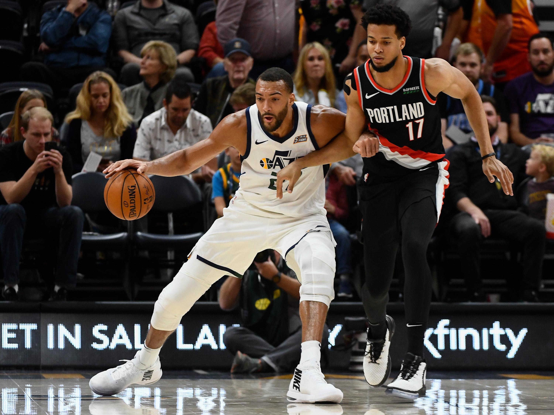Portland Trail Blazers v Utah Jazz