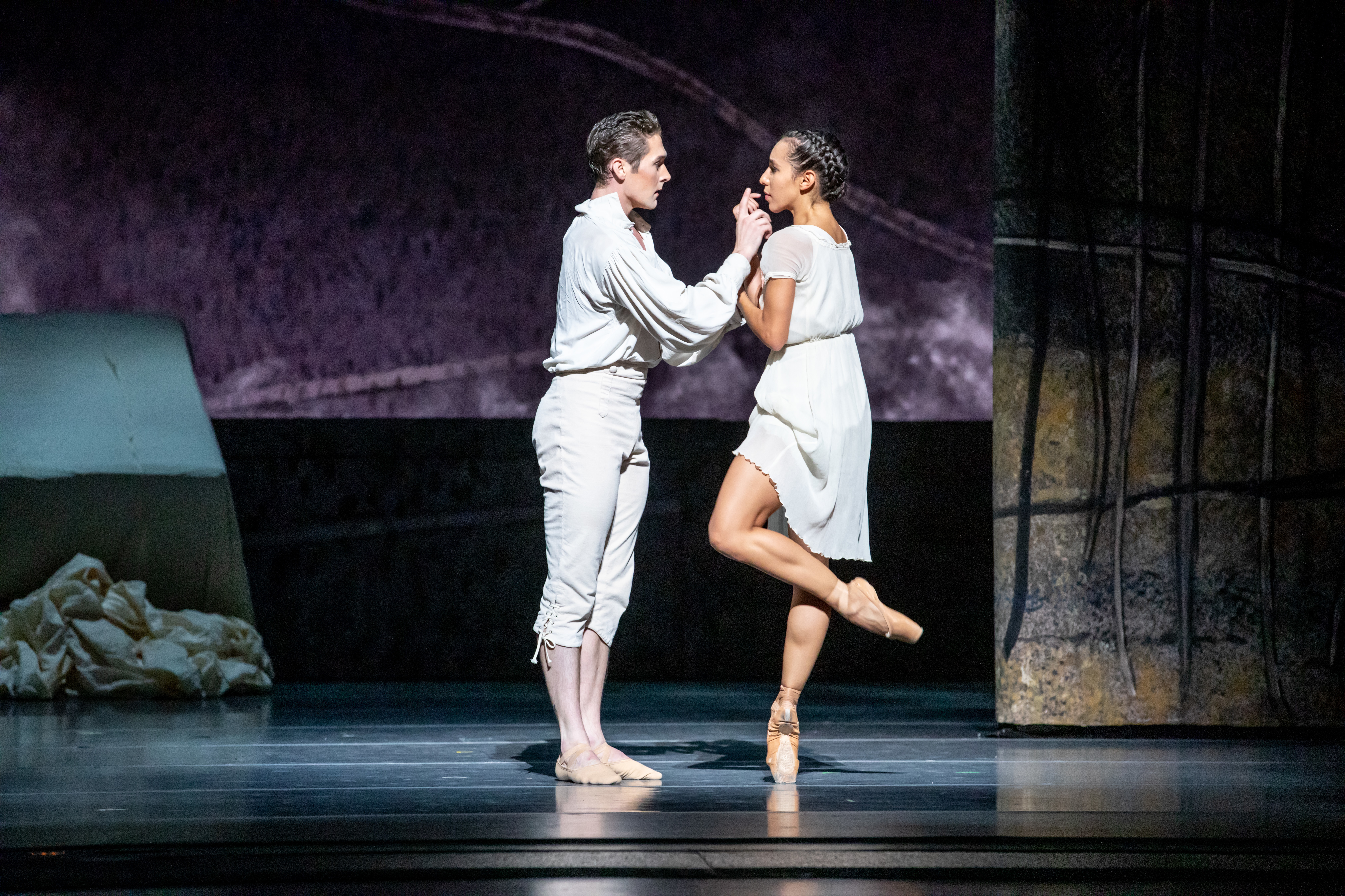 "Greig Matthews and Amanda Assucena star in the Joffrey Ballet production of ""Jane Eyre."""