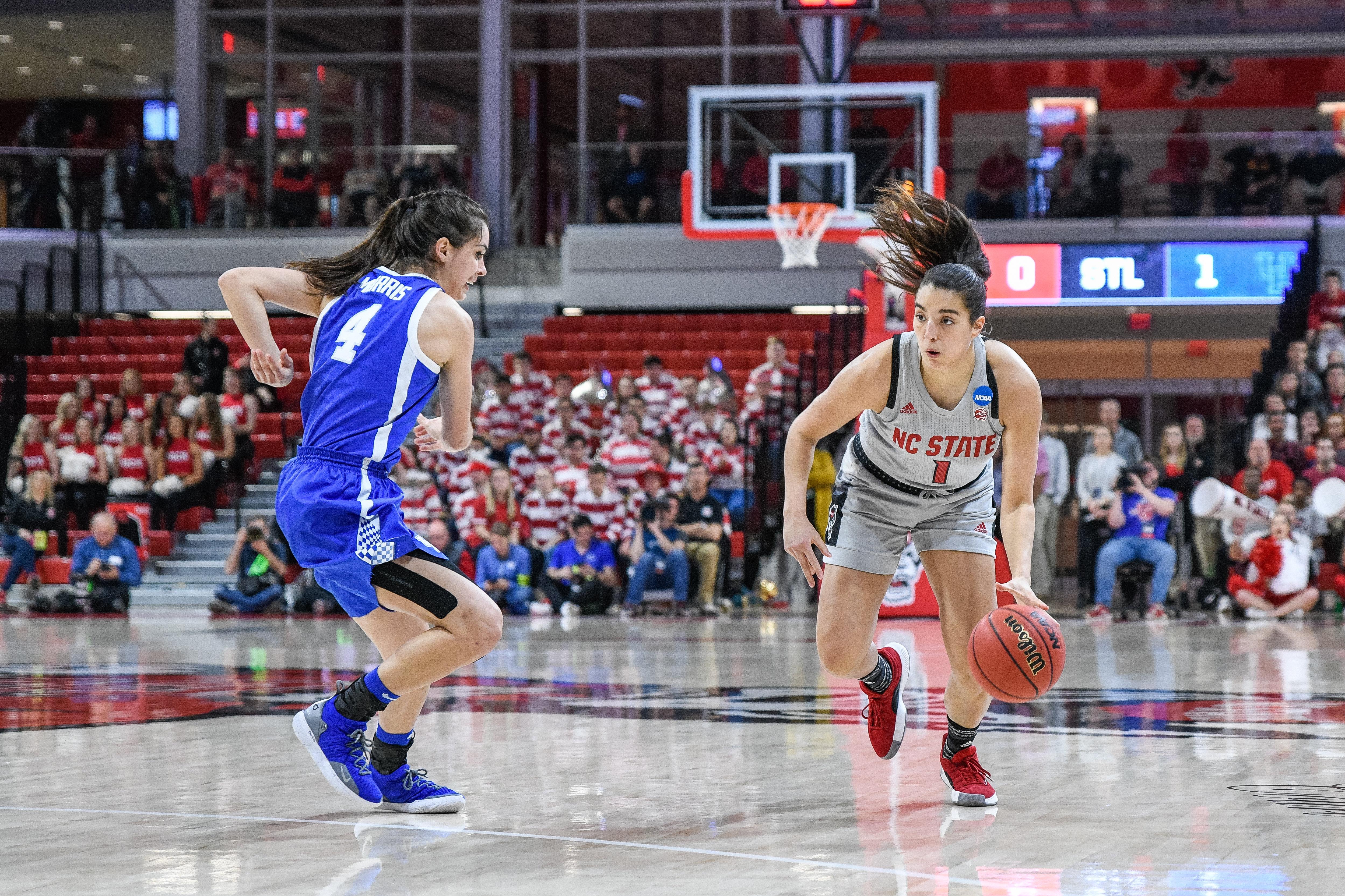 NCAA BASKETBALL: MAR 25 Div I Women's Championship - Second Round - Kentucky v NC State