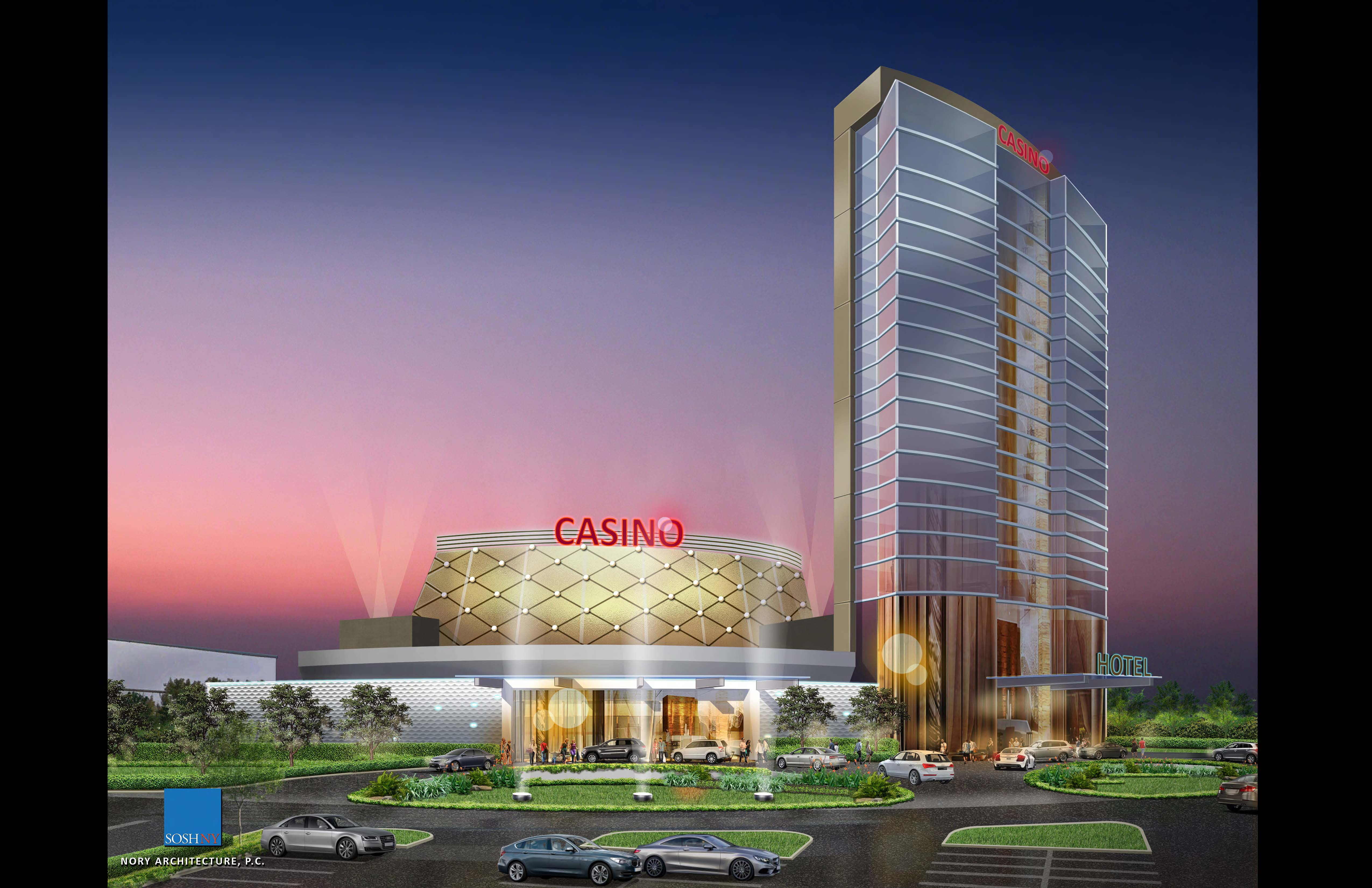 Artist's rendering of the proposed Southland Live Casino in Calumet City.