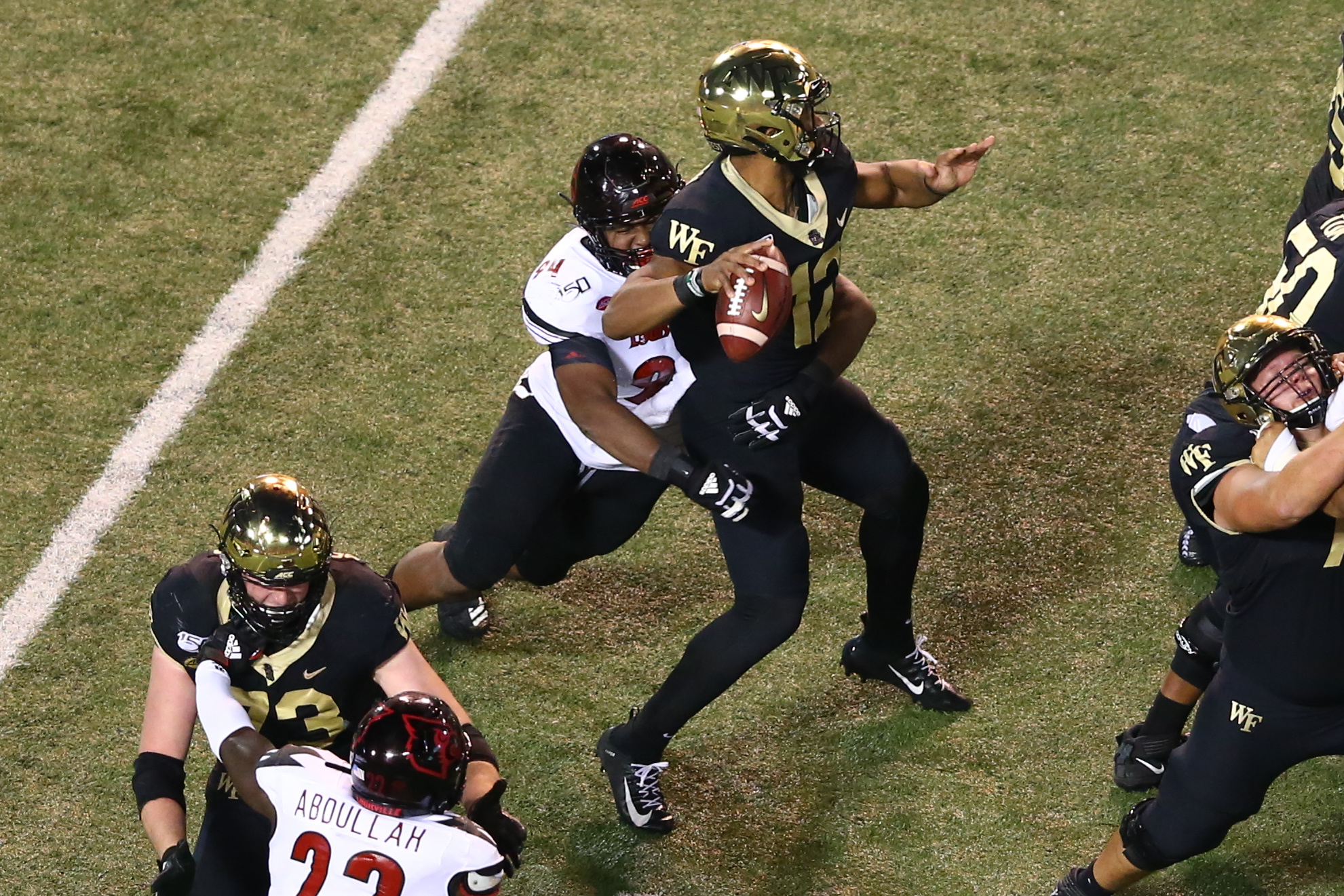 NCAA Football: Louisville at Wake Forest
