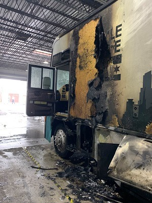 Mobile Care Chicago's Dental Van was damaged by a fire in early October.
