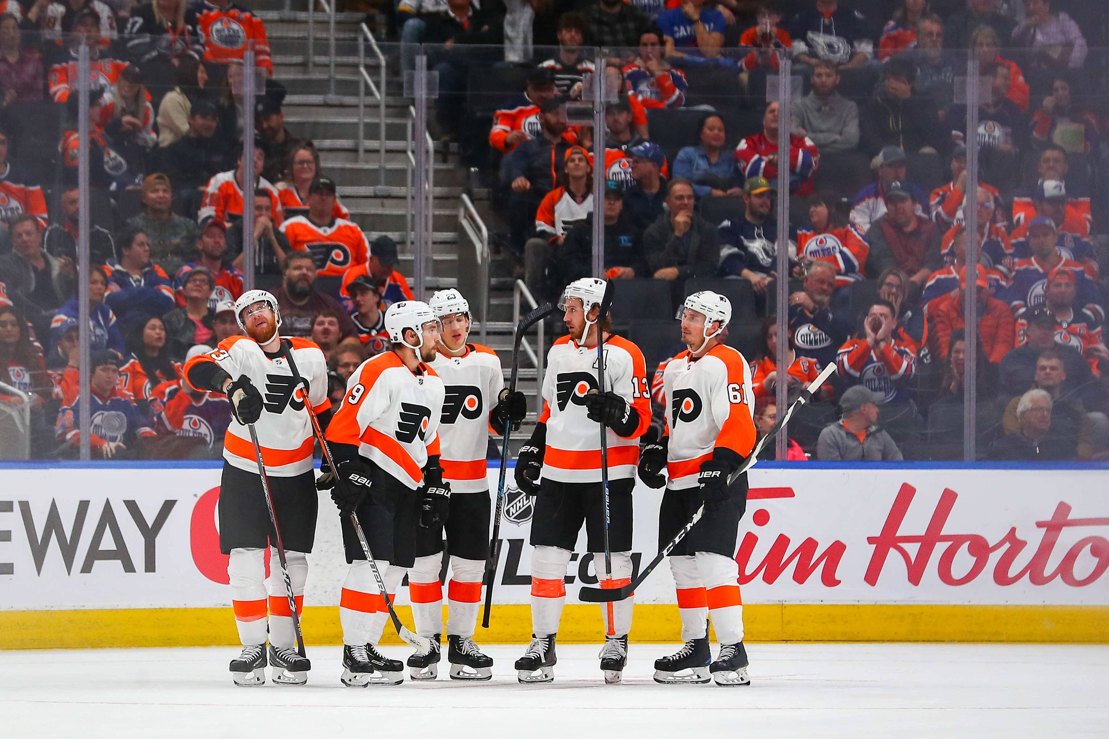 NHL: OCT 16 Flyers at Oilers
