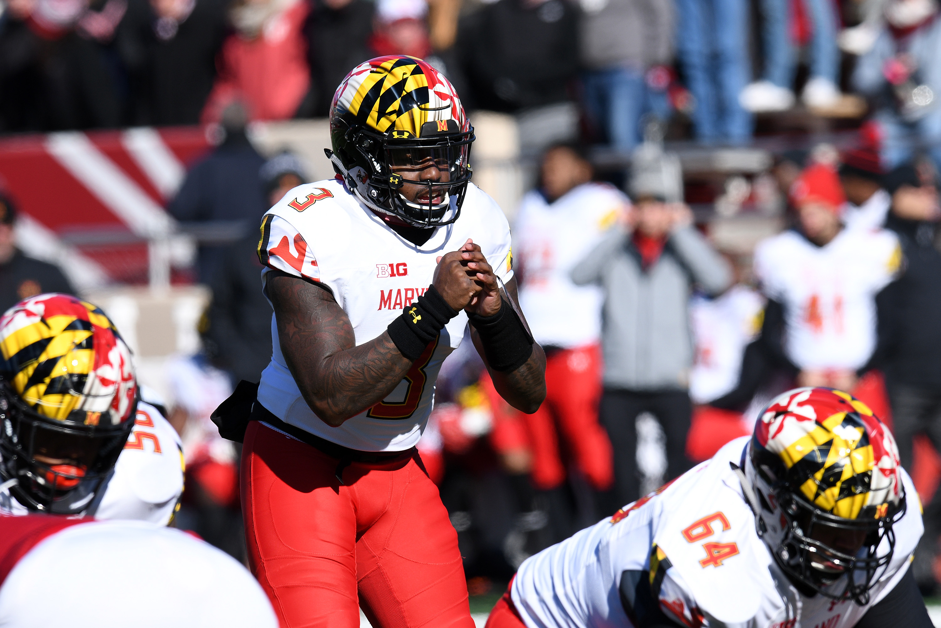 COLLEGE FOOTBALL: NOV 10 Maryland at Indiana
