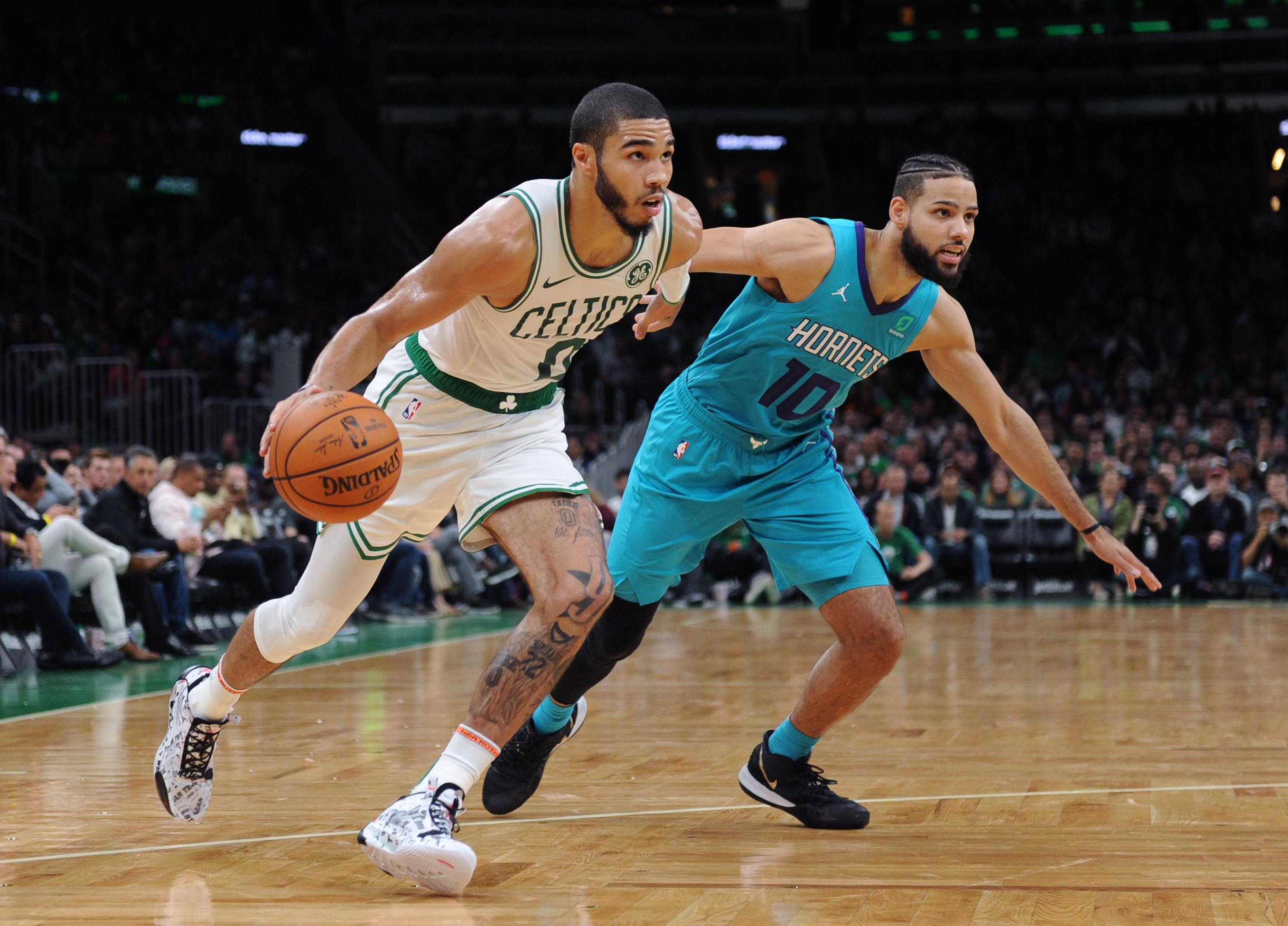 NBA: Preseason-Charlotte Hornets at Boston Celtics