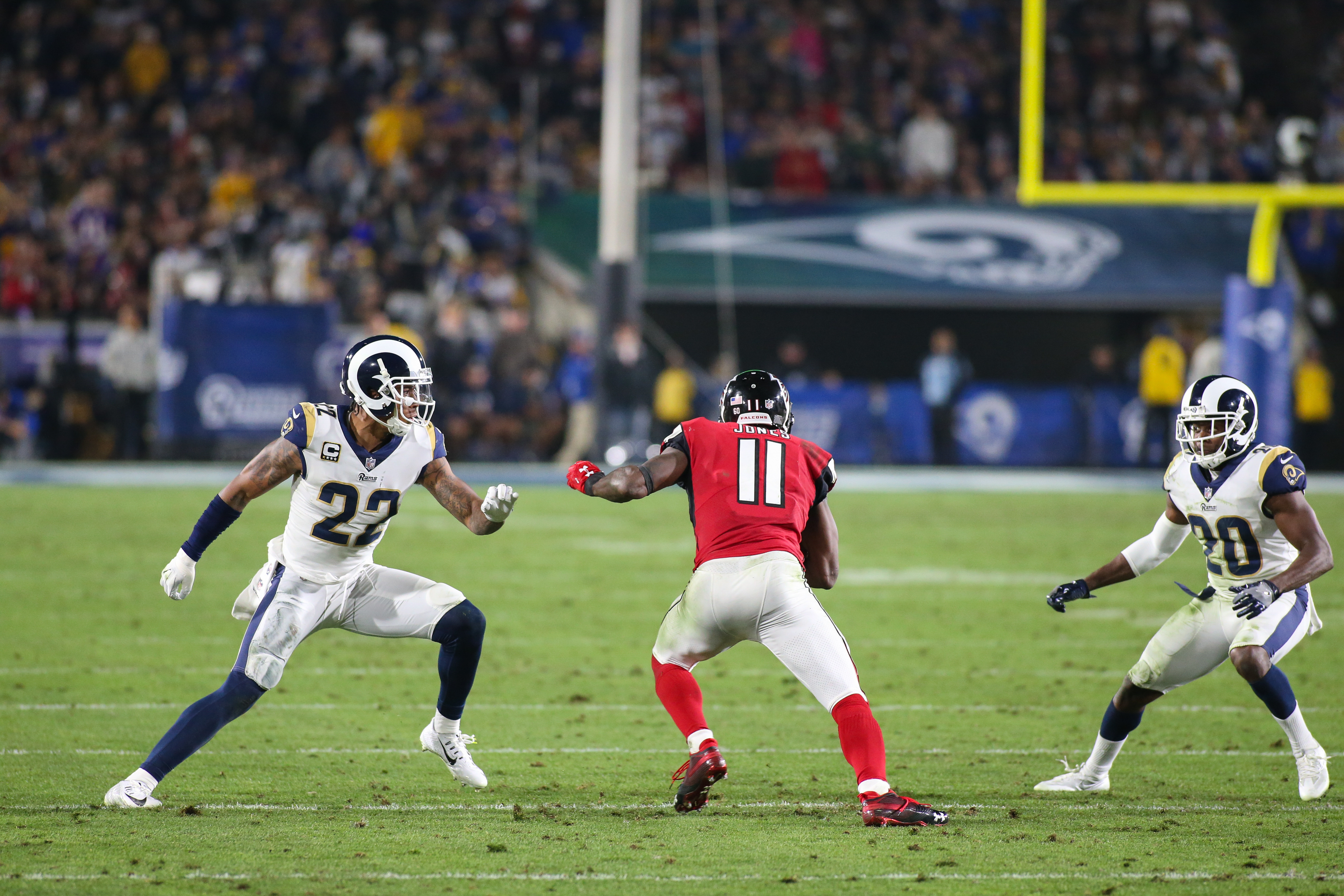 NFL: JAN 06 NFC Wild Card - Falcons at Rams