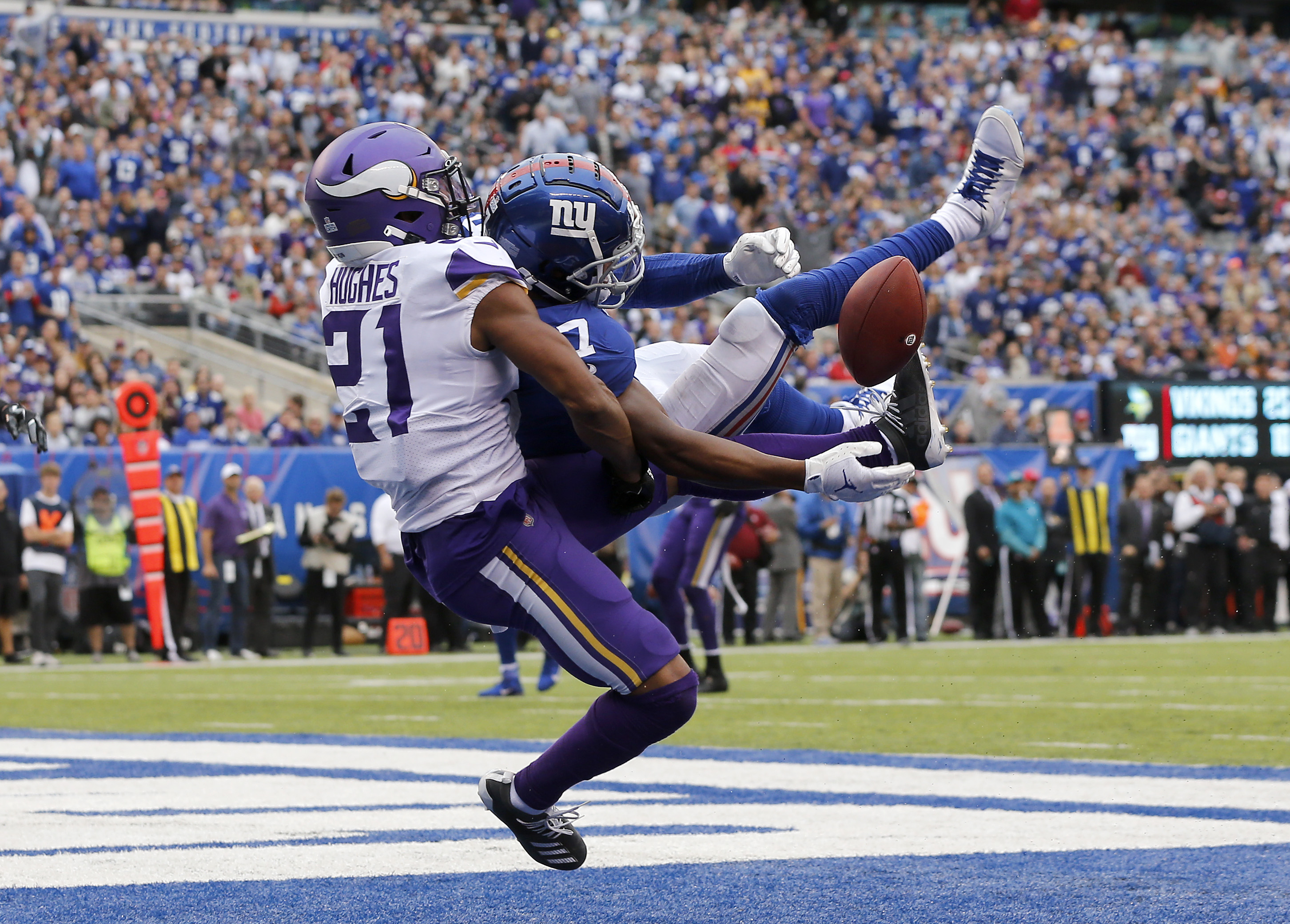 Minnesota Vikings vNew York Giants
