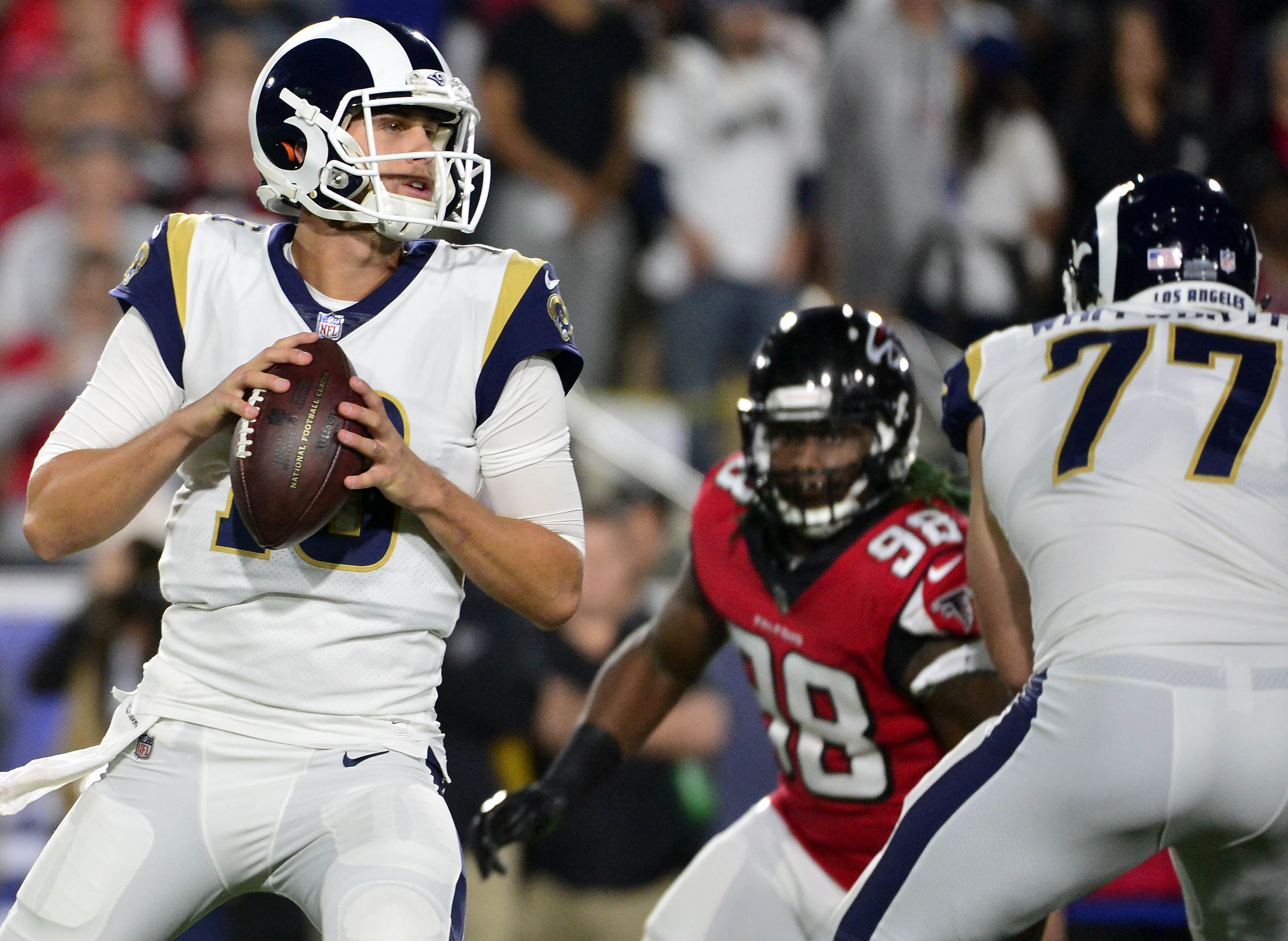 NFL: NFC Wild Card-Atlanta Falcons at Los Angeles Rams