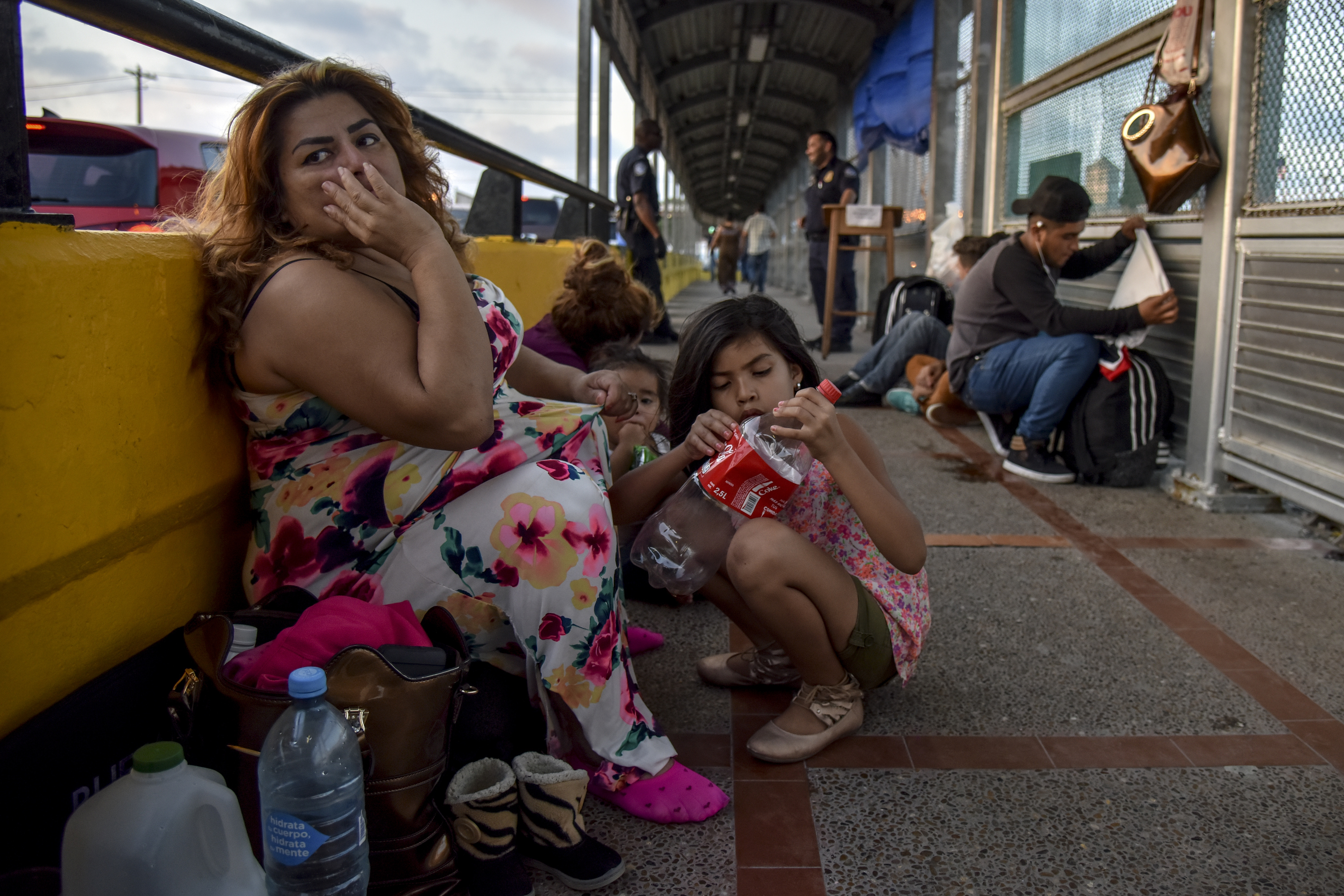 House Democrats say migrants aren't getting fair hearings at tent courts on the border