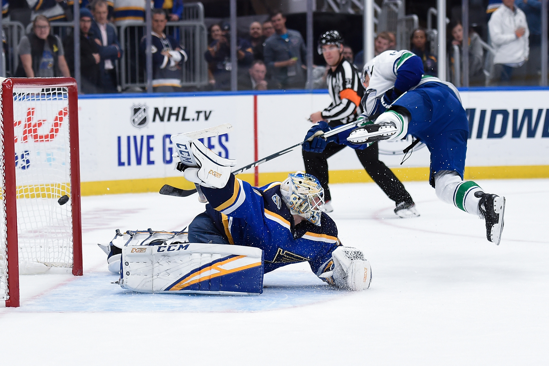 Vancouver Canucks v St Louis Blues