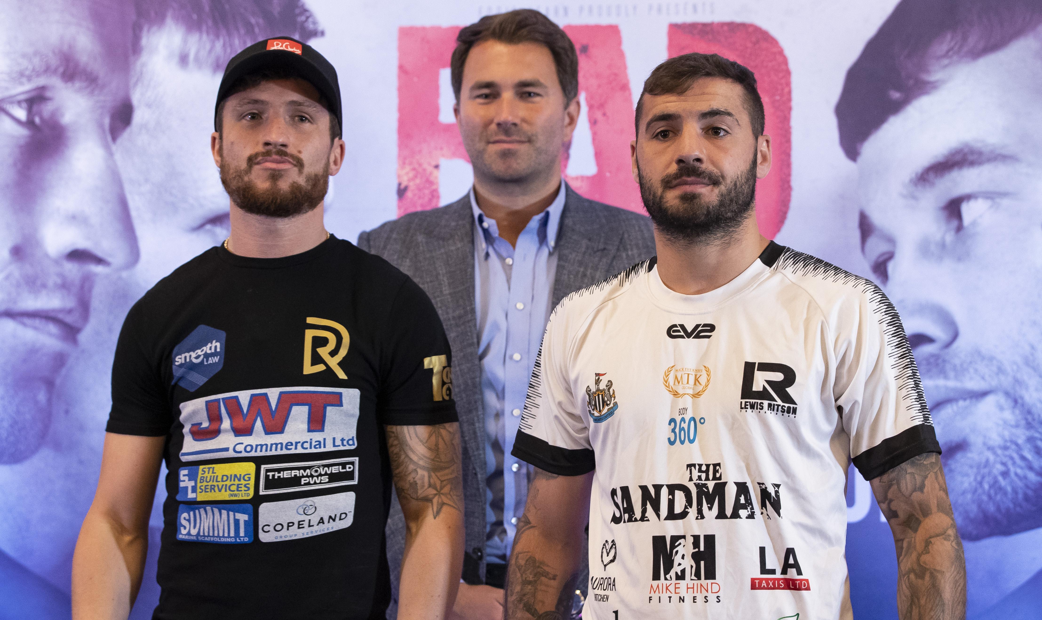 Robbie Davies Jr v Lewis Ritson Matchroom Boxing Press Conference