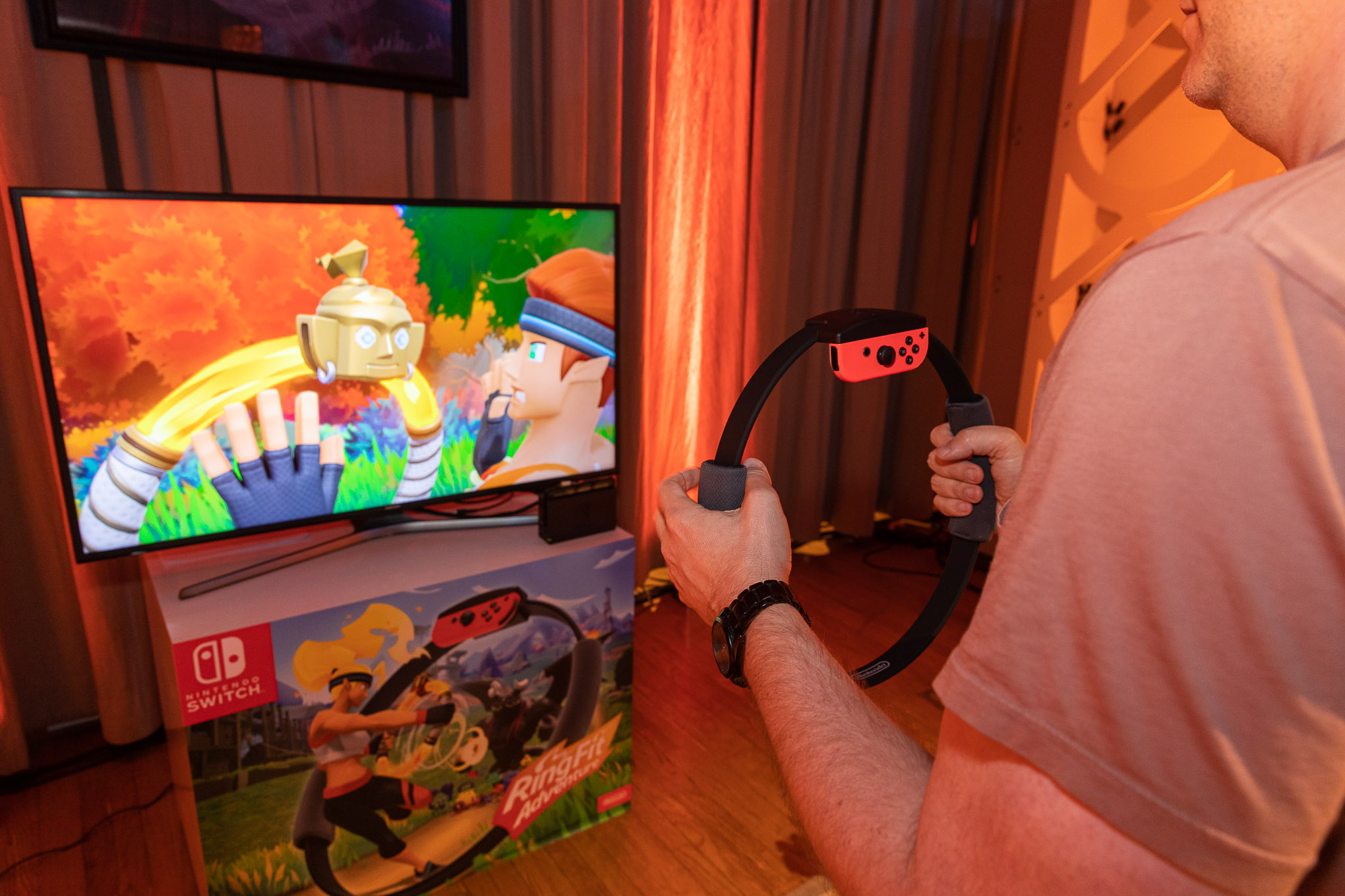 Nintendo made fitness fun with a plastic ring and a pulse-pounding RPG