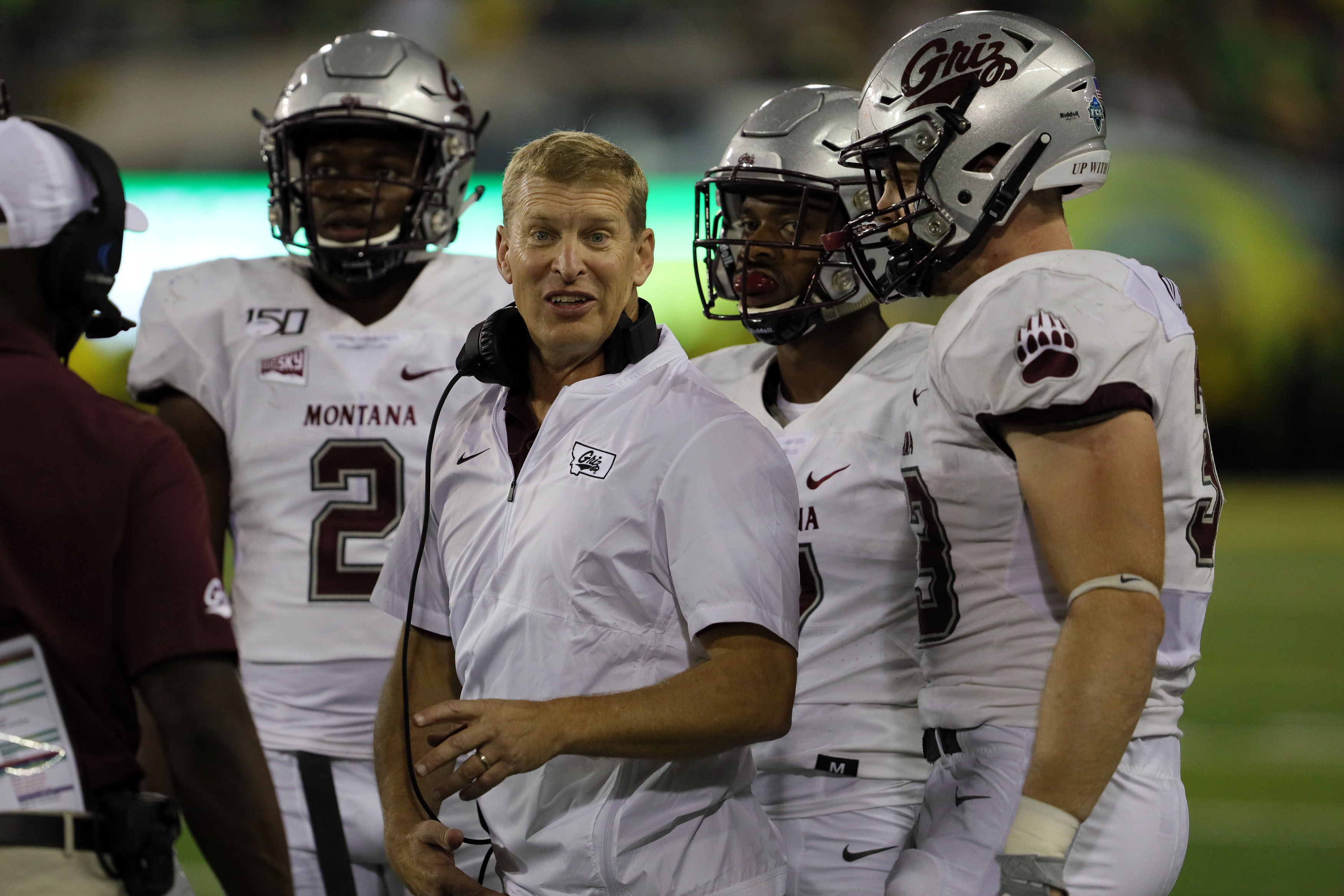 NCAA Football: Montana at Oregon