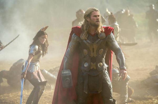 "Thor (Chris Hemsworth) in ""Marvel's Thor: The Dark World."""