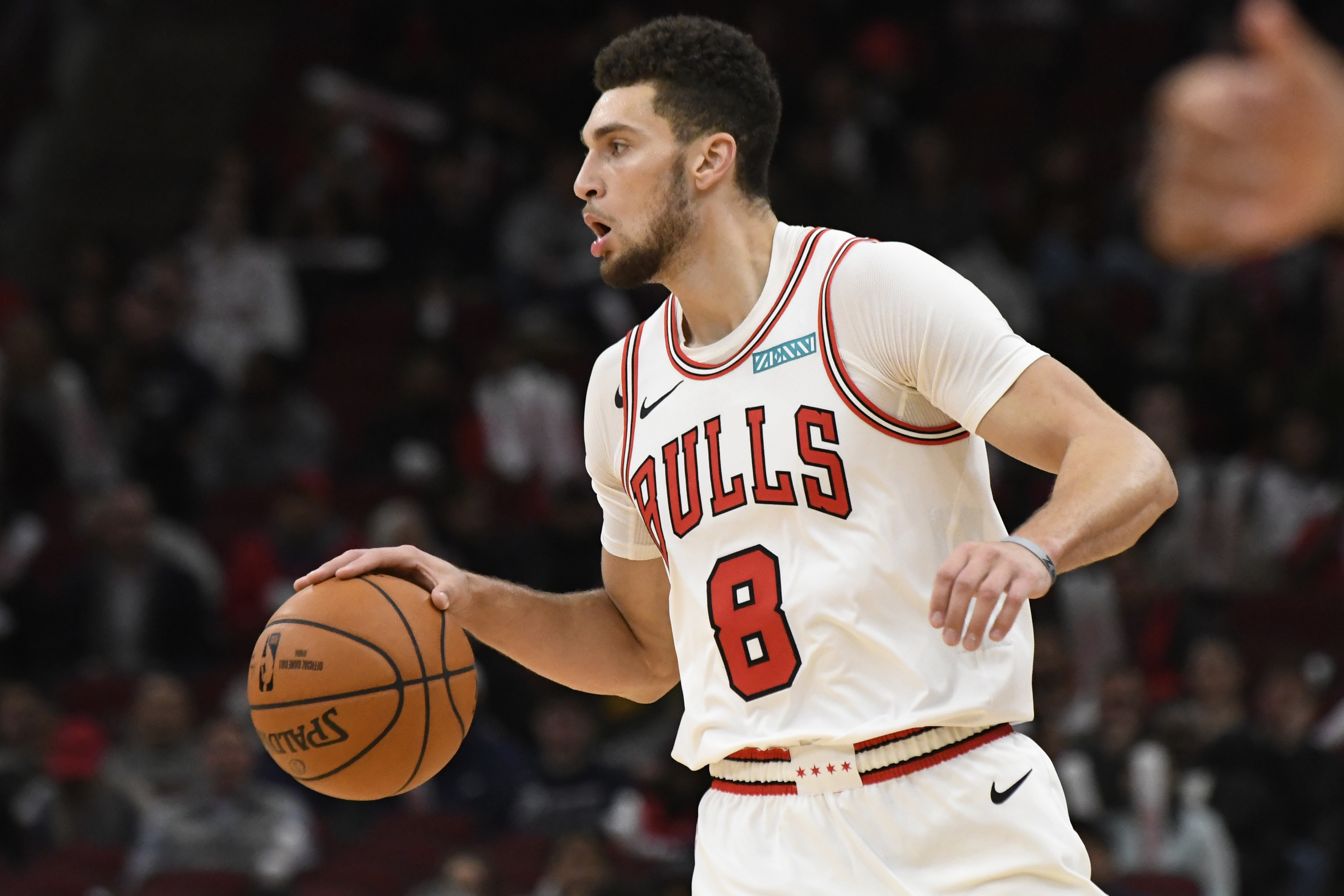 Guard Zach LaVine and the Bulls are likely to do better than the paltry 22 victories they  had last season, but a postseason berth  might be a stretch.