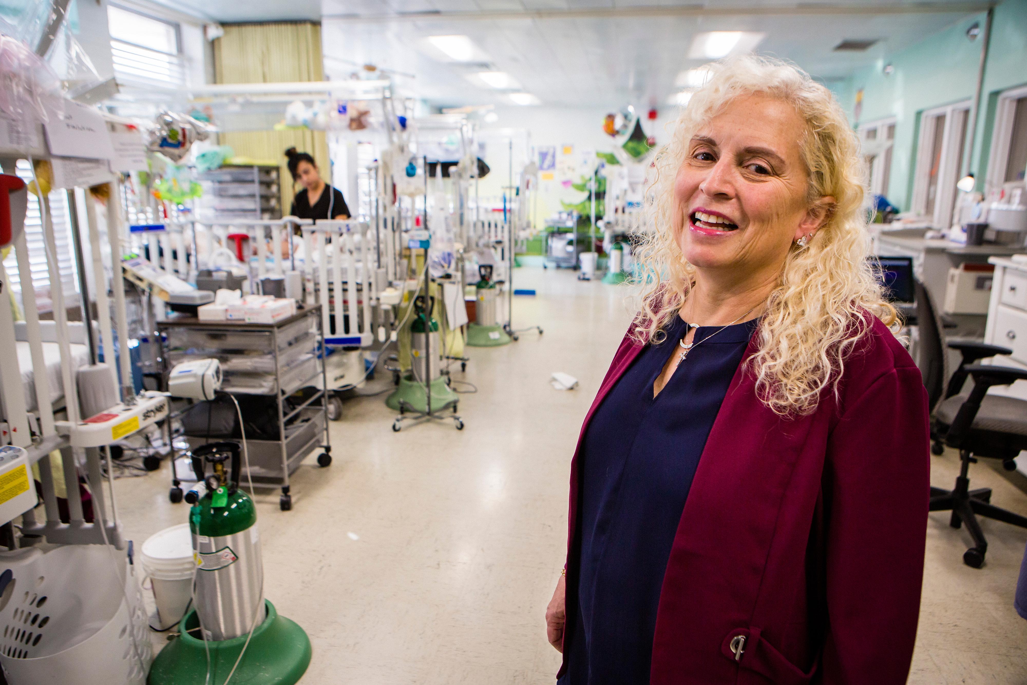 Helene Pochopien, director of nursing at Maryville Children's Healthcare Center