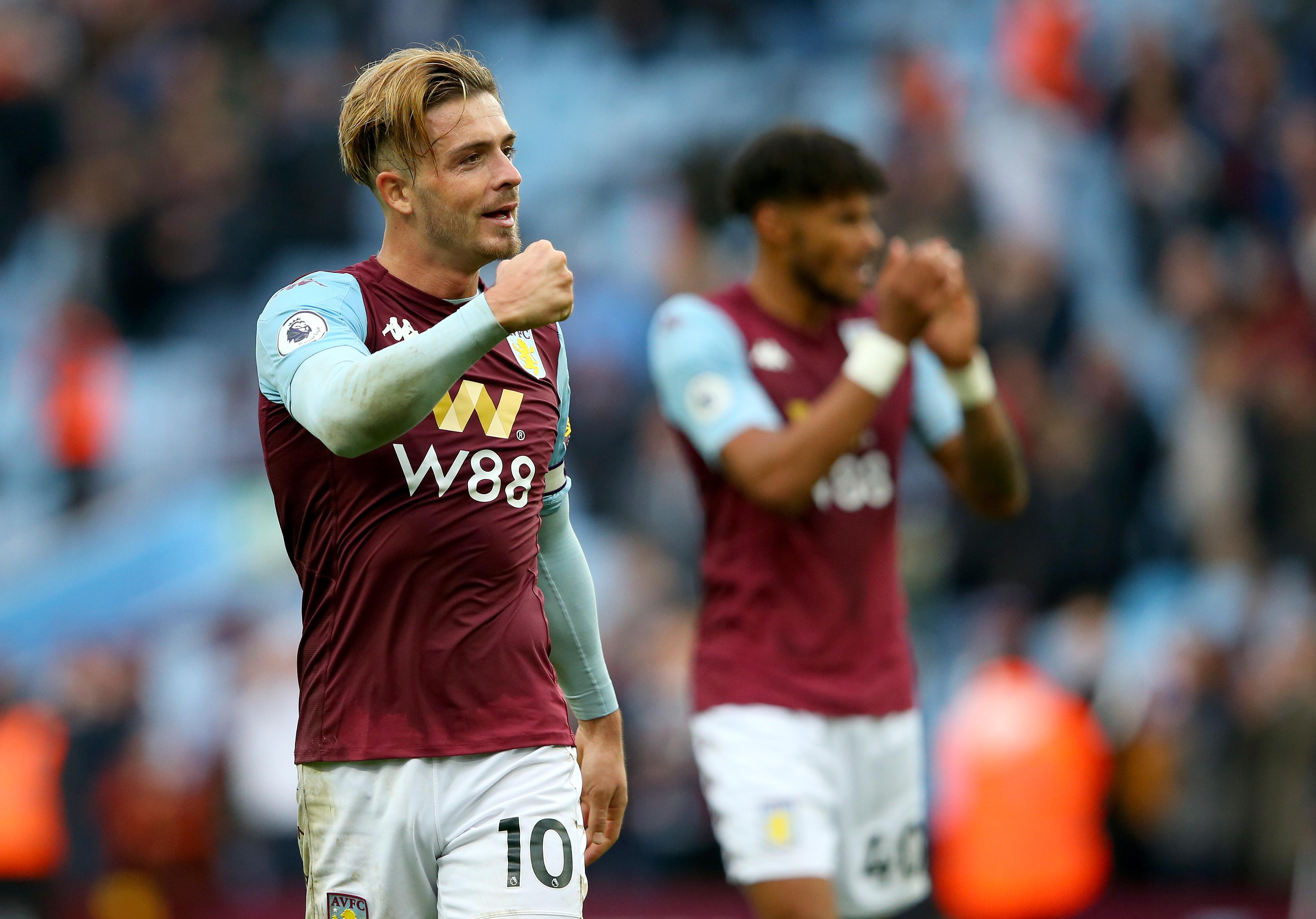 Aston Villa 2 - 1 Brighton: Grealish leads Villa to victory