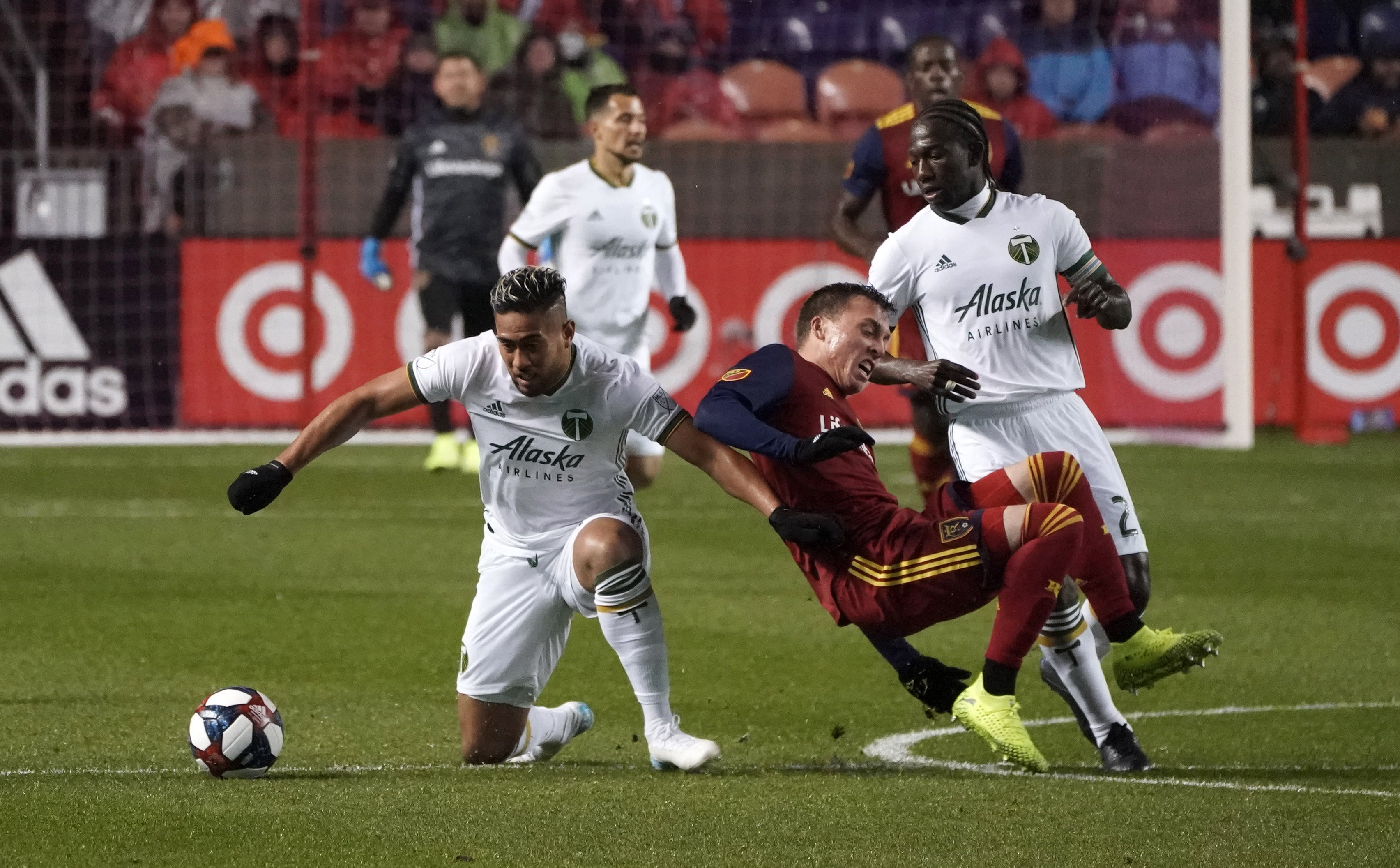MLS: MLS Cup Playoffs-Round One-Portland Timbers at Real Salt Lake