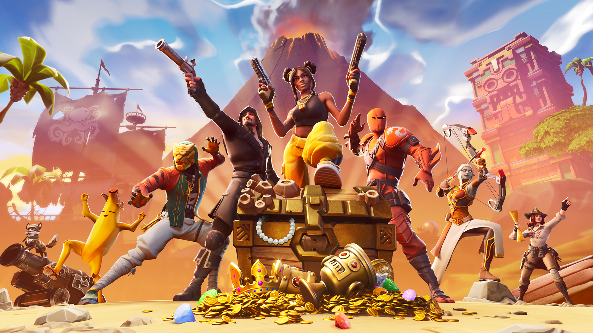 Fortnite's newest glitch launches players out of a dumpster, into the sky