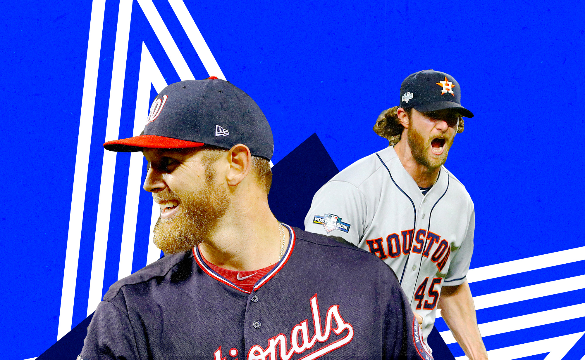Stephen Strasburg and Gerrit Cole are excellent and photogenic pitchers, and they are both playing in the World Series