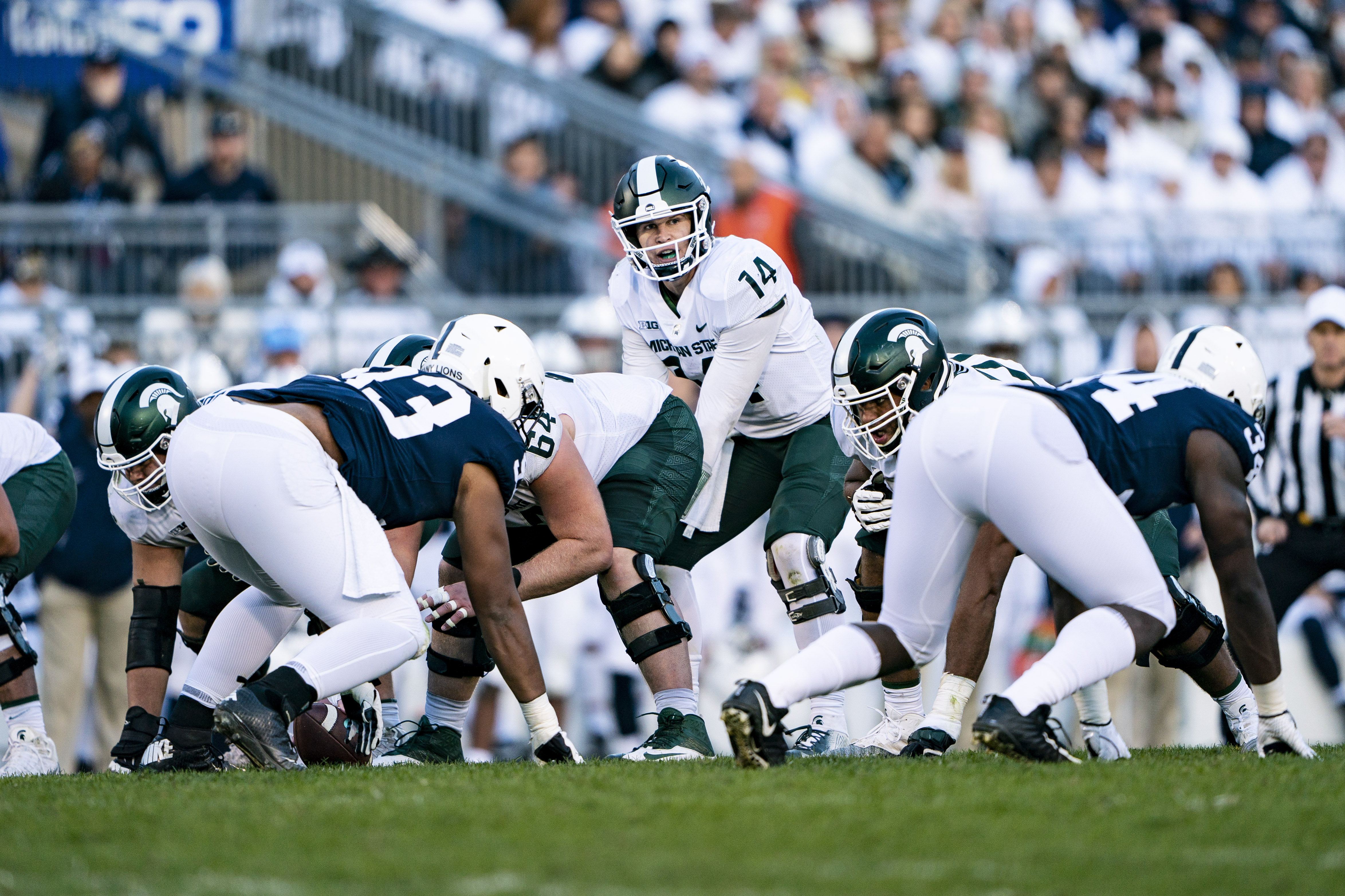 COLLEGE FOOTBALL: OCT 13 Michigan State at Penn State