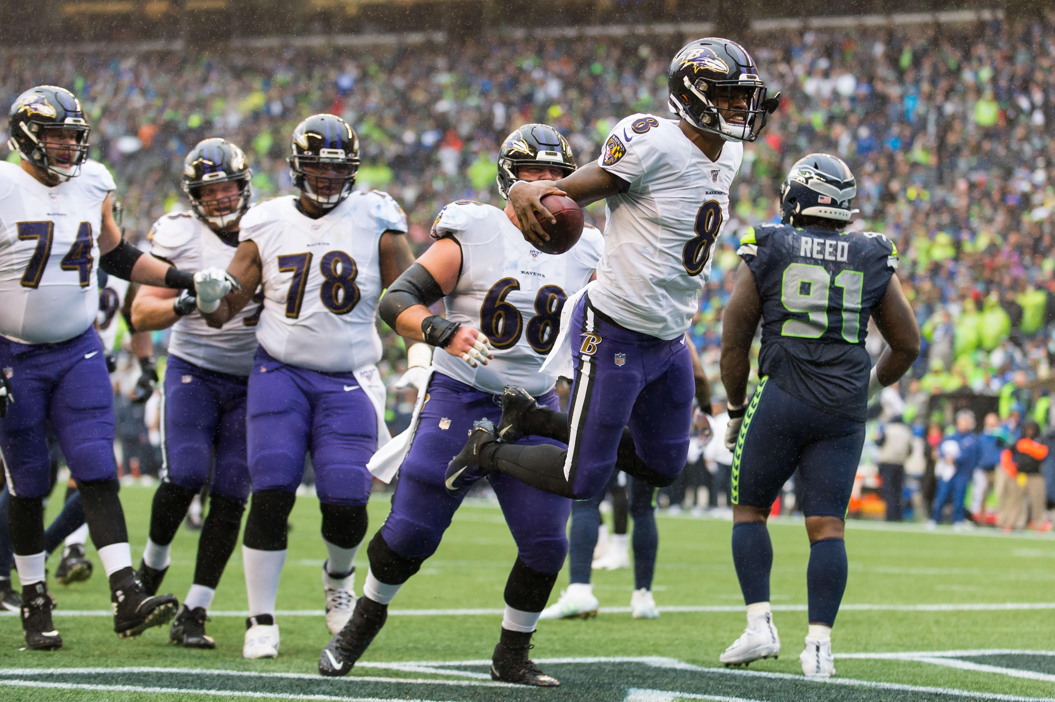 NFL: Baltimore Ravens at Seattle Seahawks