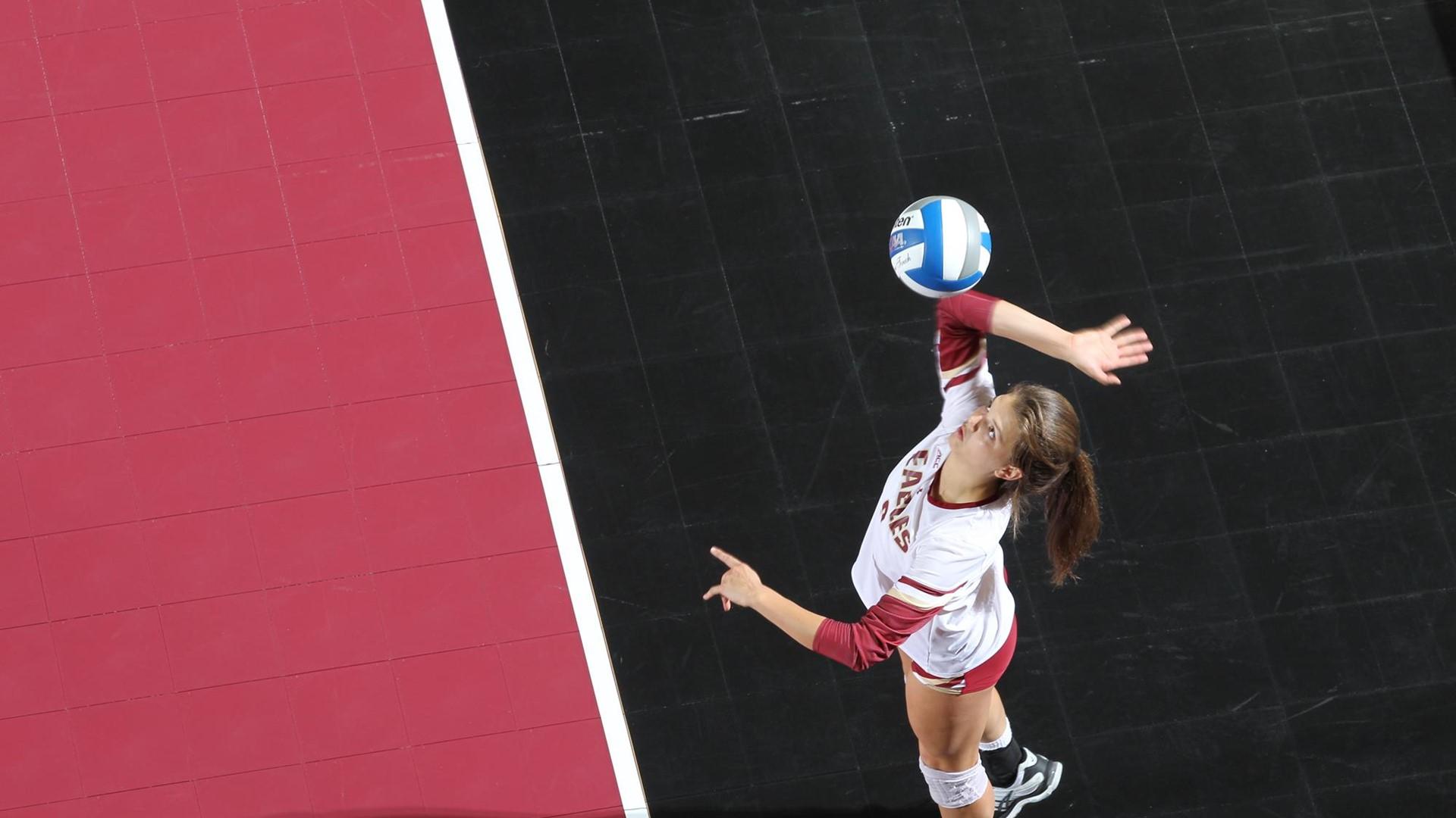 bc volleyball bceagles.com katty