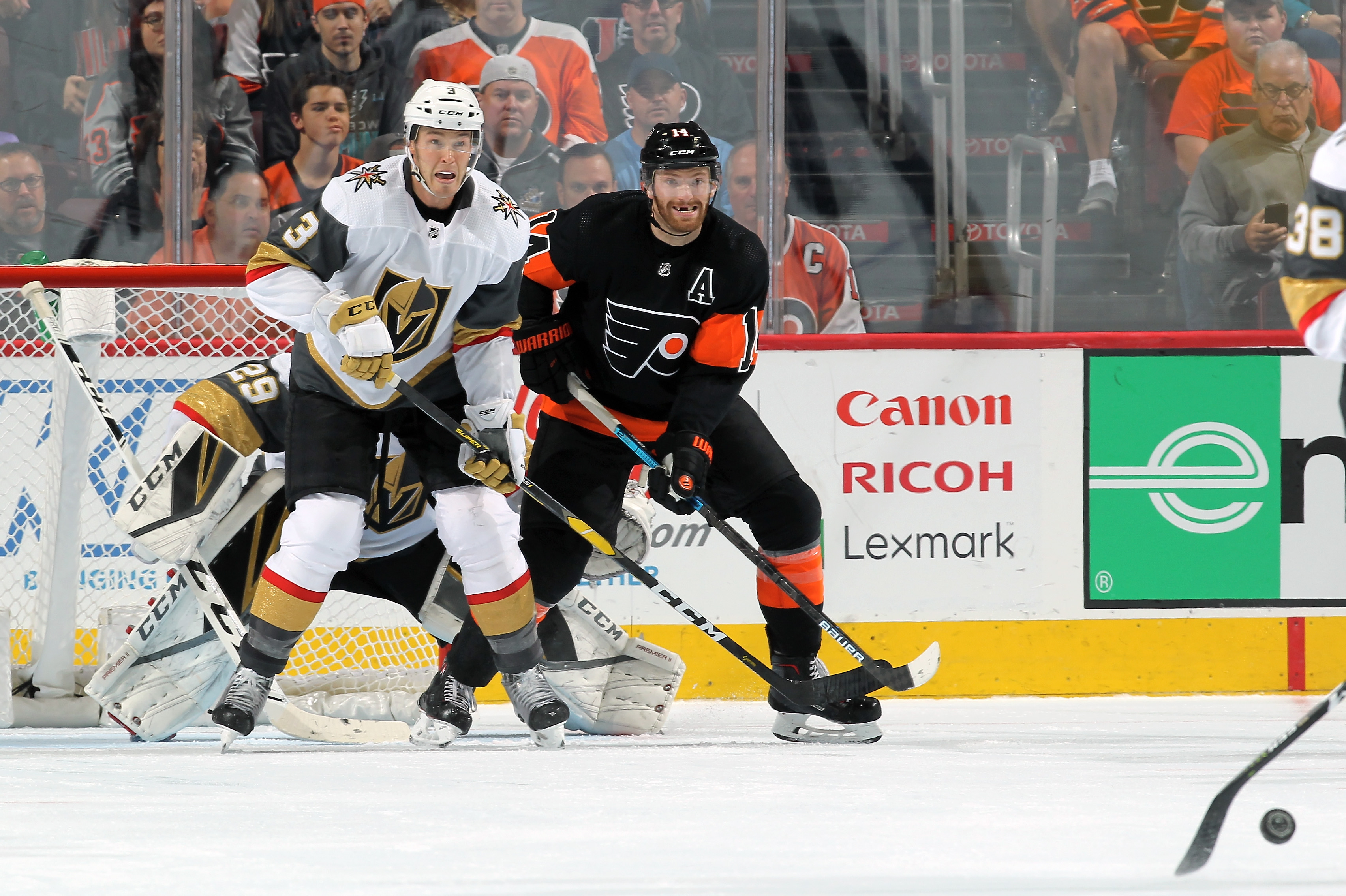Vegas Golden Knights v Philadelphia Flyers