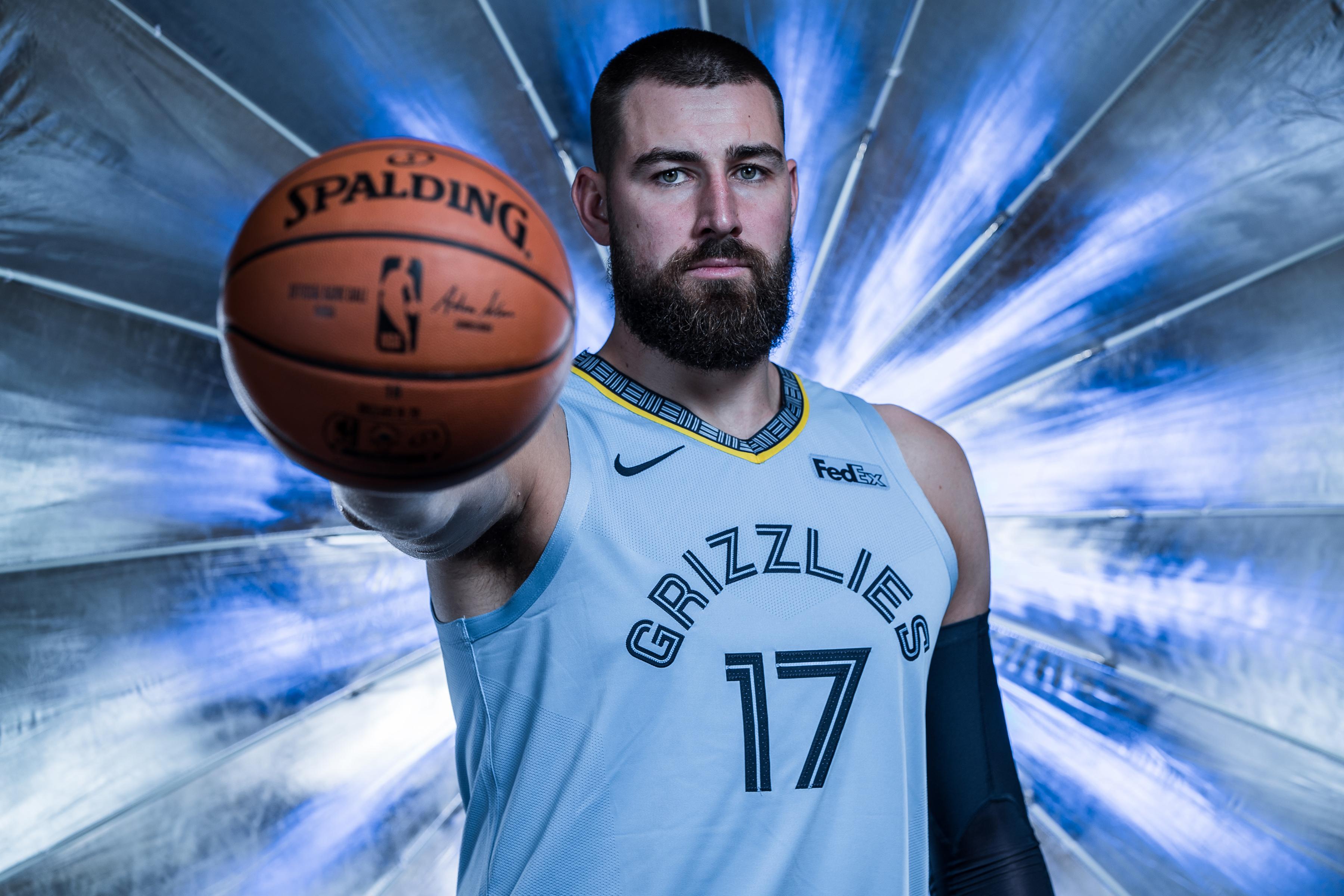 2019-20 Memphis Grizzlies Media Day