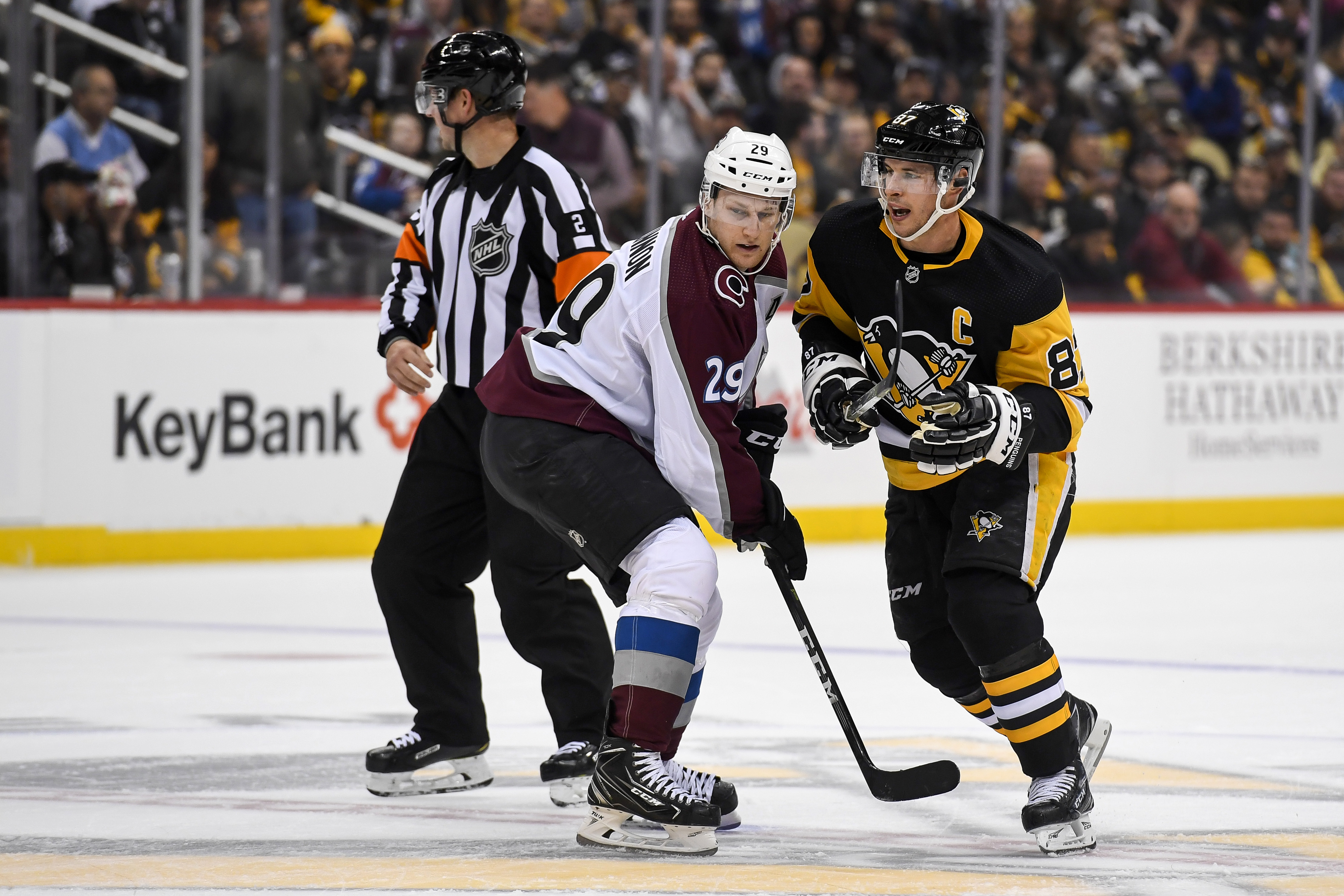 NHL: OCT 16 Avalanche at Penguins