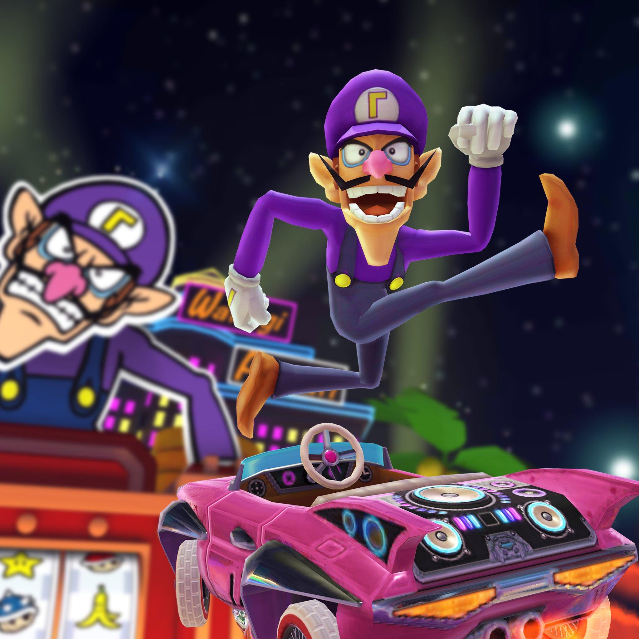 The horrible Waluigi is joining Mario Kart Tour