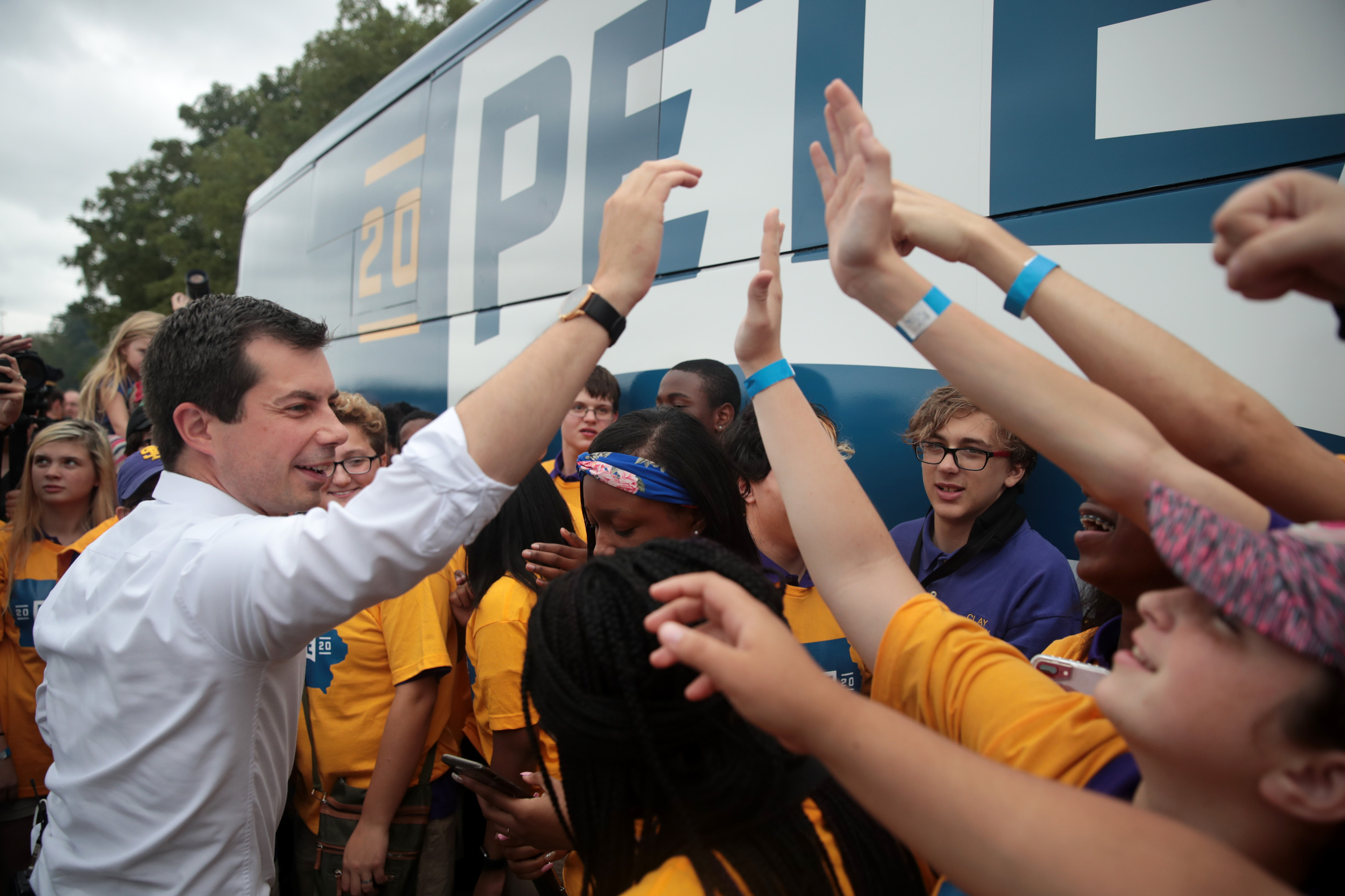Poll: Pete Buttigieg joins the list of presidential frontrunners in Iowa