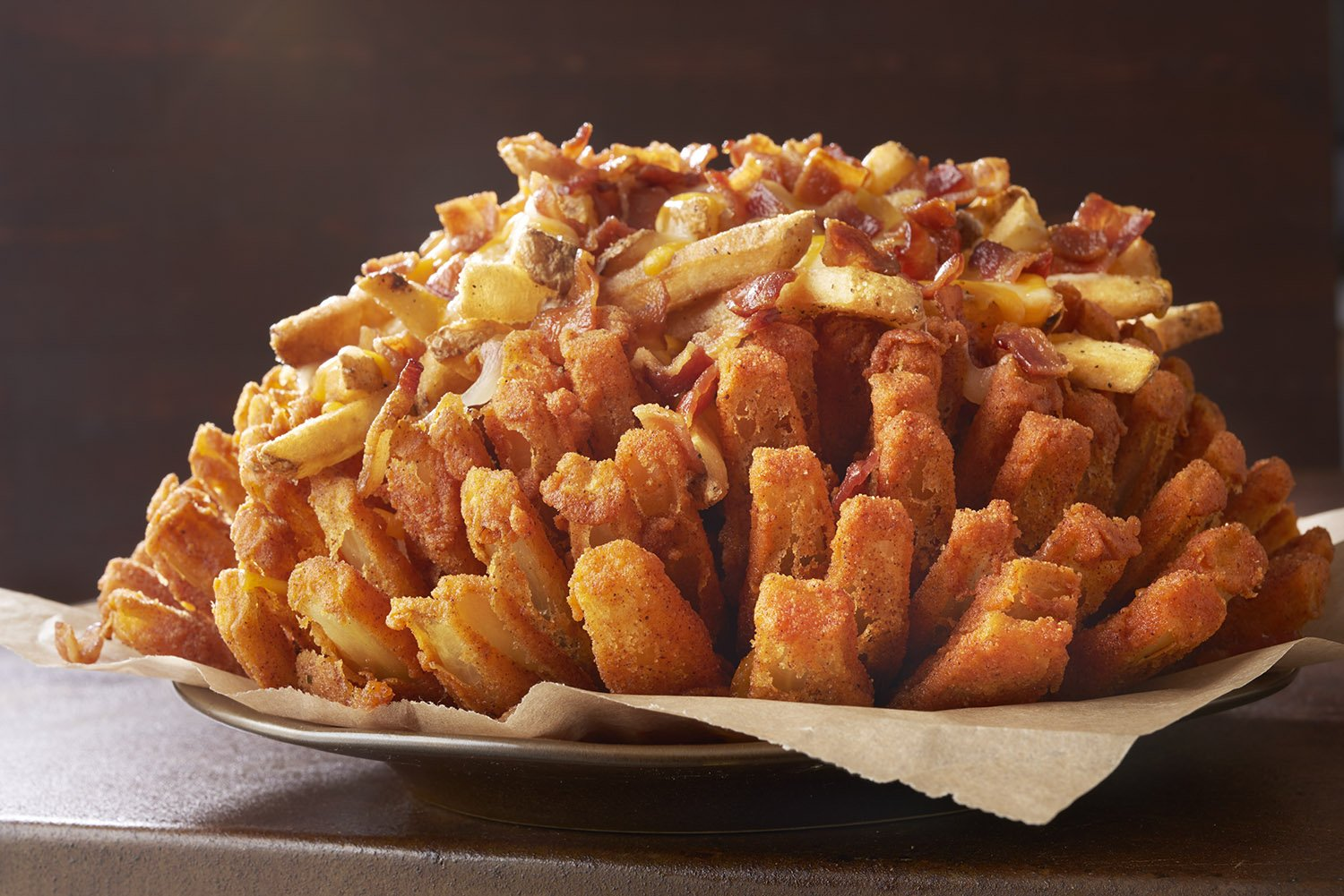 Outback Bloomin' onion fries